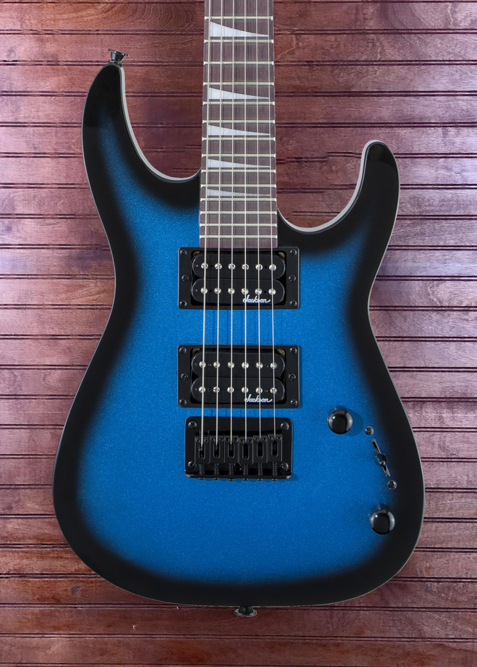 Jackson Jackson JS1X Dinky Minion Blue Metallic Burst