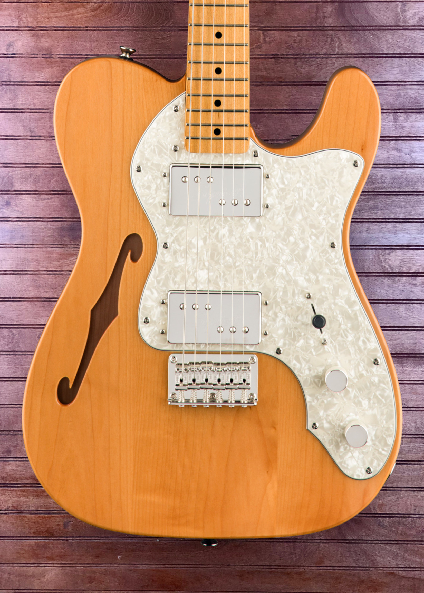 Squier Squier Classic Vibe 70's Thinline Telecaster Natural HH
