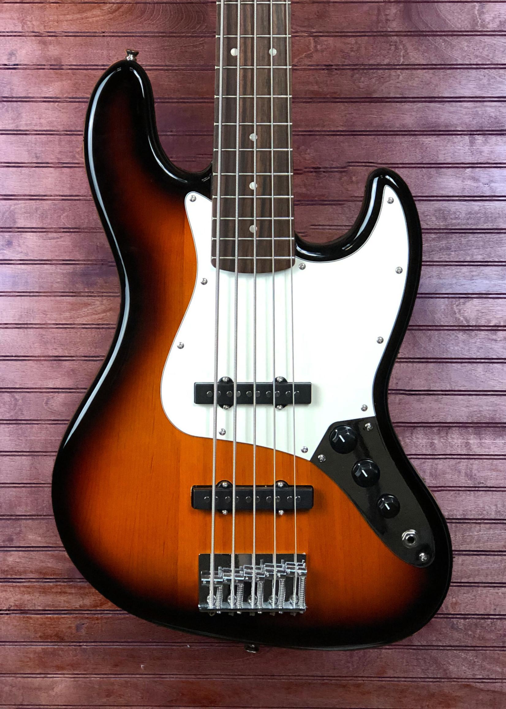 Squier Squier Affinity Jazz Bass 5-String Sunburst