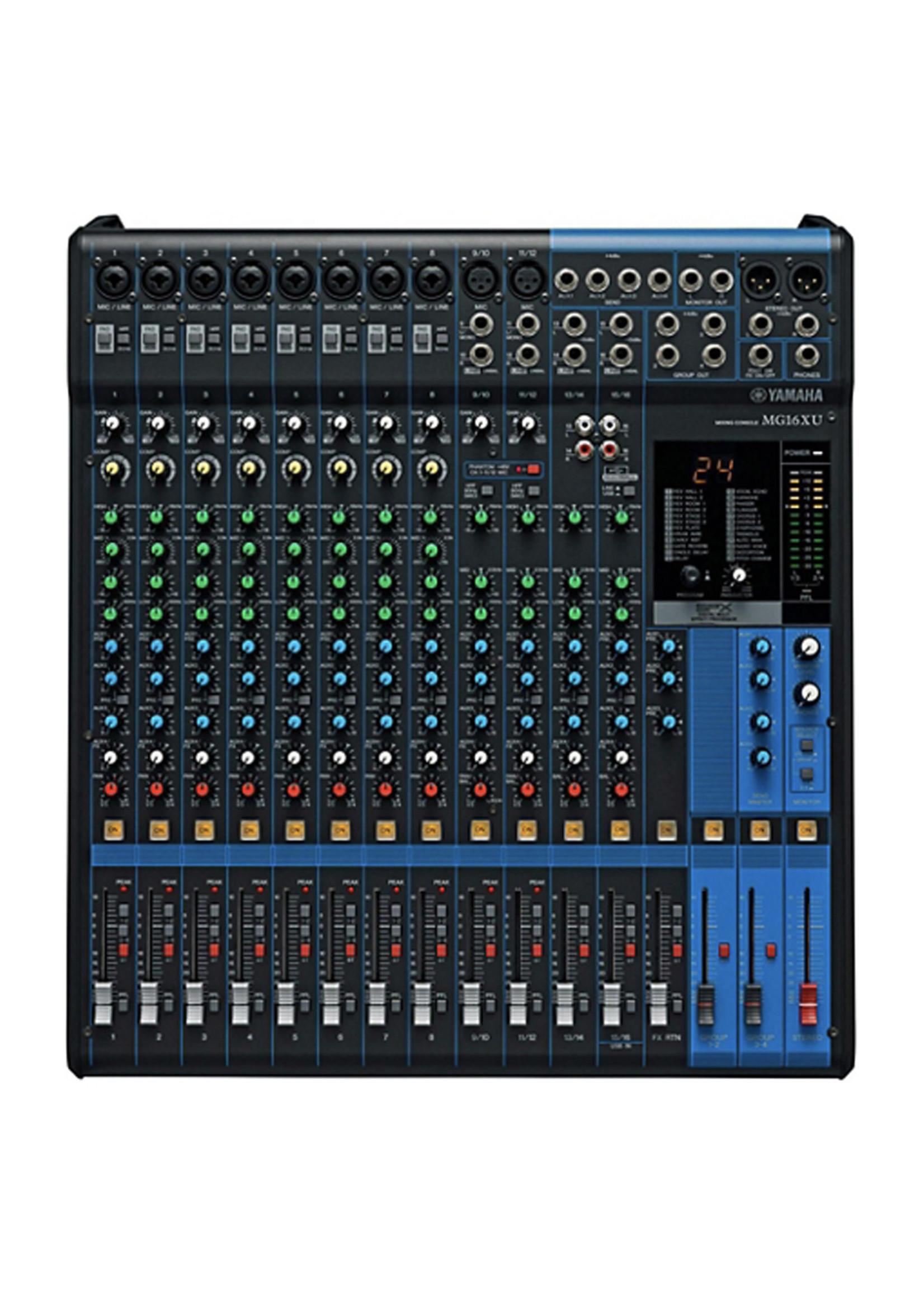 Yamaha Yamaha MG16XU 16 Channel Mixer