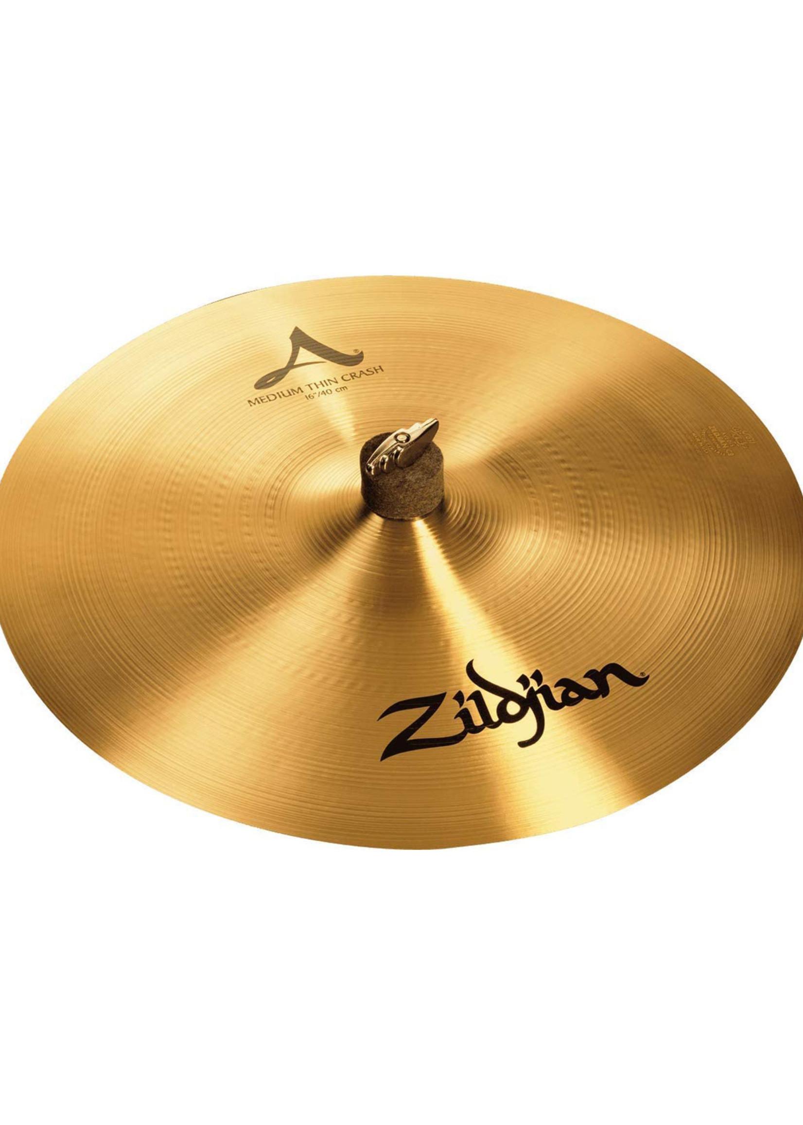 """Zildjian A Series 16"""" Med/Thin Crash"""