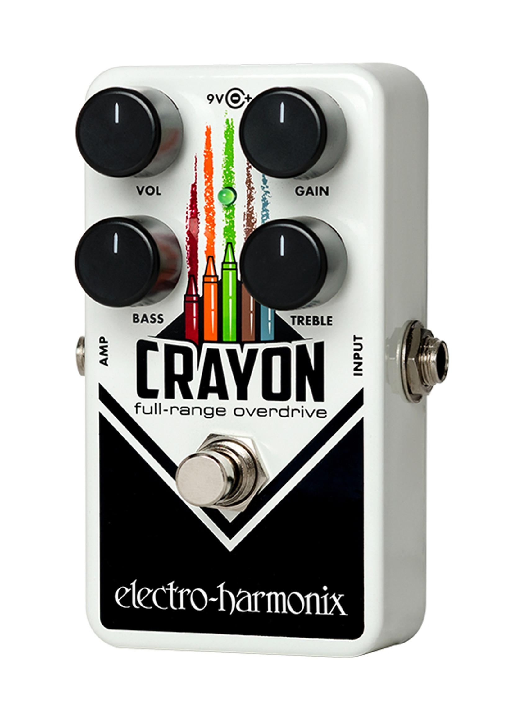 Electro Harmonix EHX Crayon Full-Range Overdrive