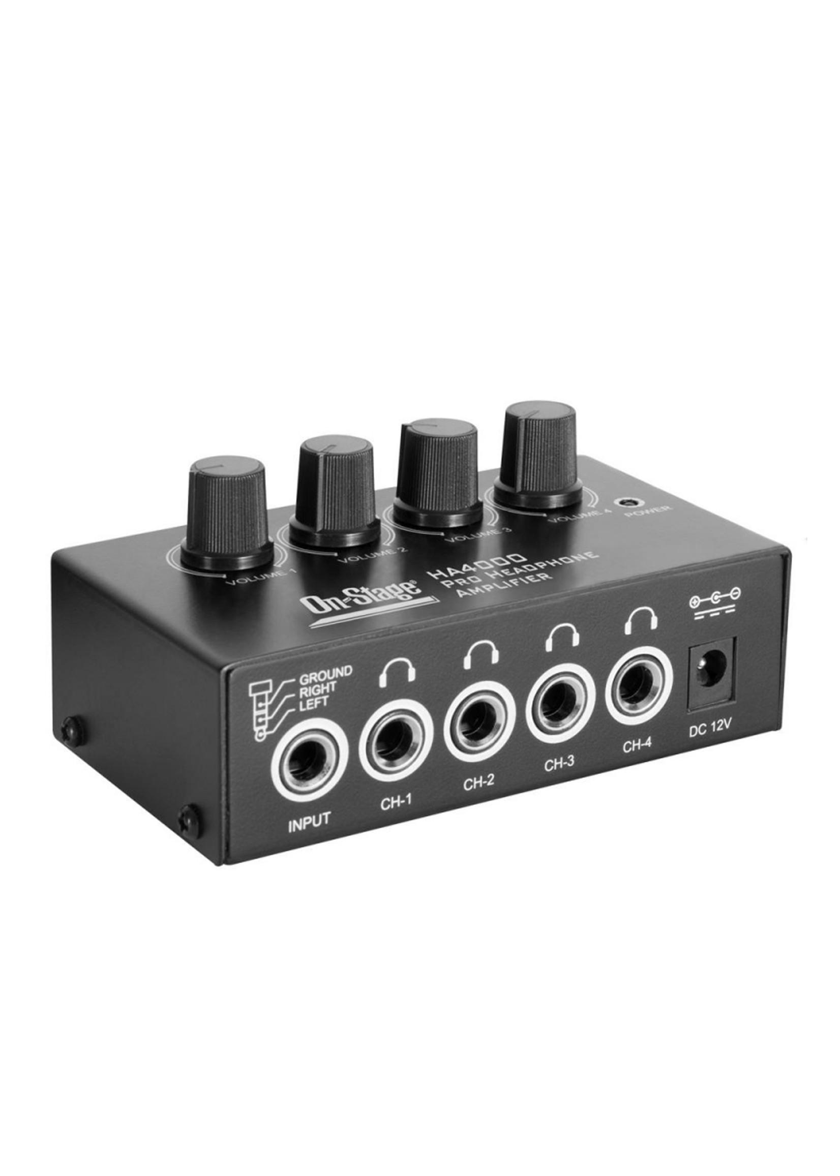 On Stage HA4000  Headphone  Amplifier
