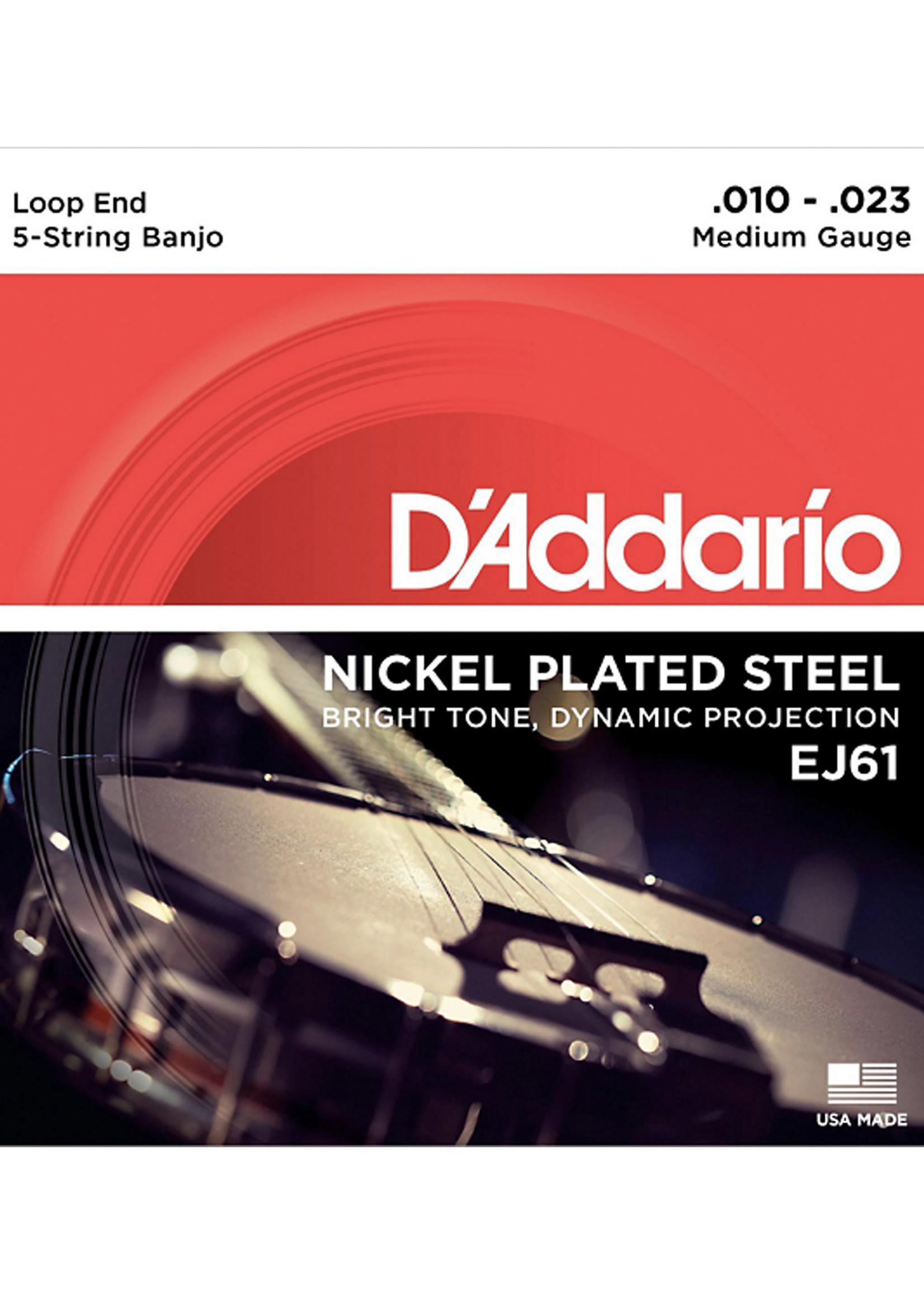 DAddario Fretted D'Addario EJ61 10-23 Medium