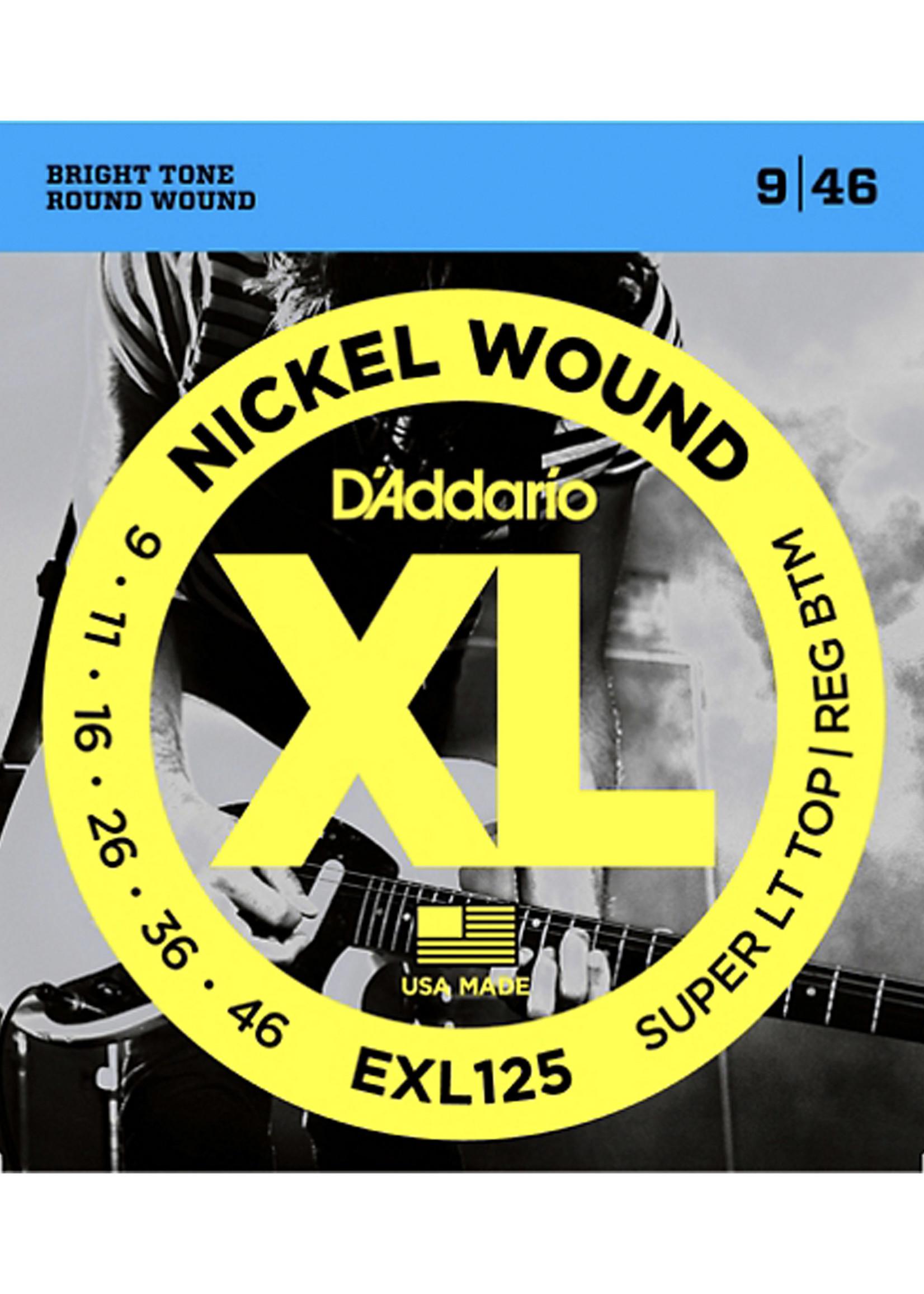 DAddario Fretted D'Addario EXL125 9-46