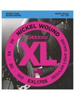 DAddario Fretted D'Addario EXL-170S 45-100