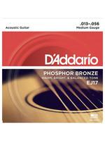 DAddario Fretted D'Addario EJ17 13/56