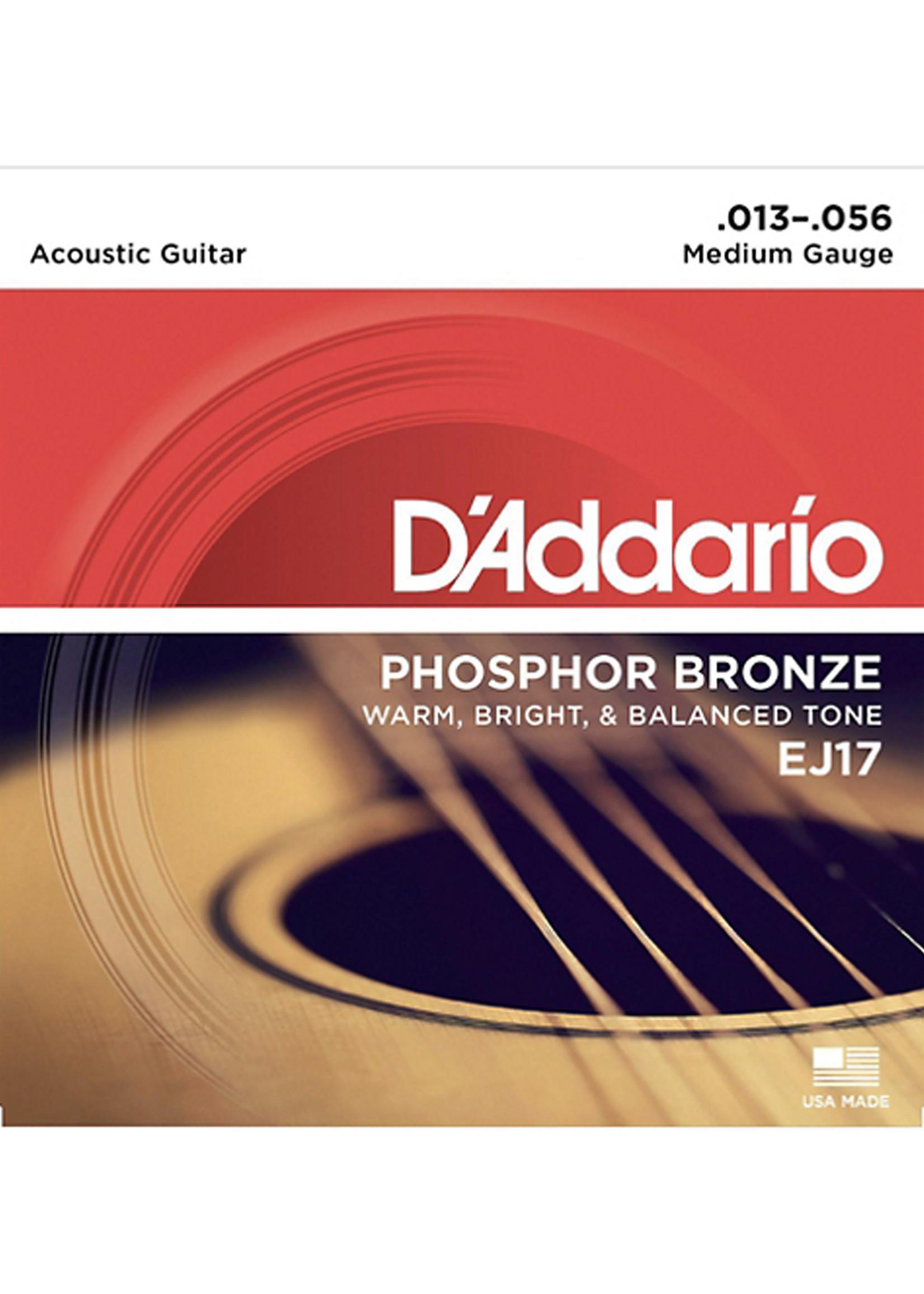 DAddario Fretted D'Addario EJ17 13/56 Medium