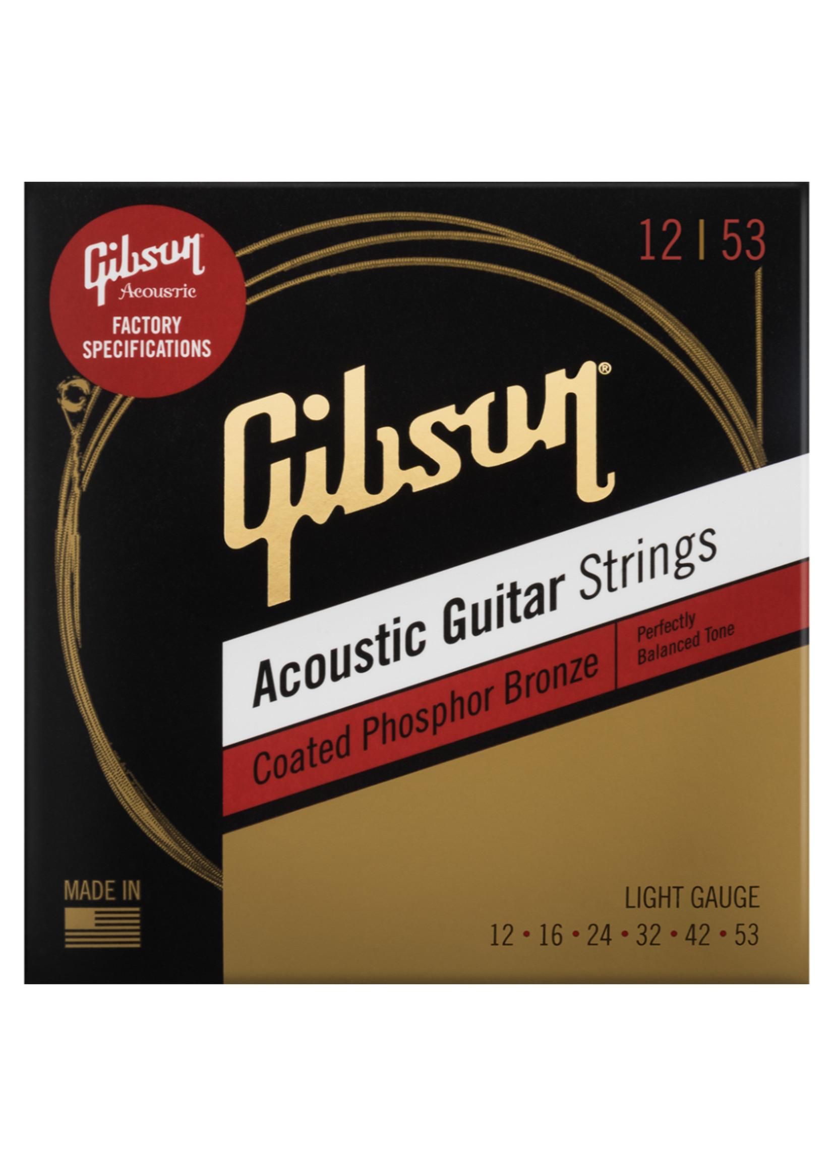 Gibson Brands Gibson Phosphor Bronze Lights 12-53