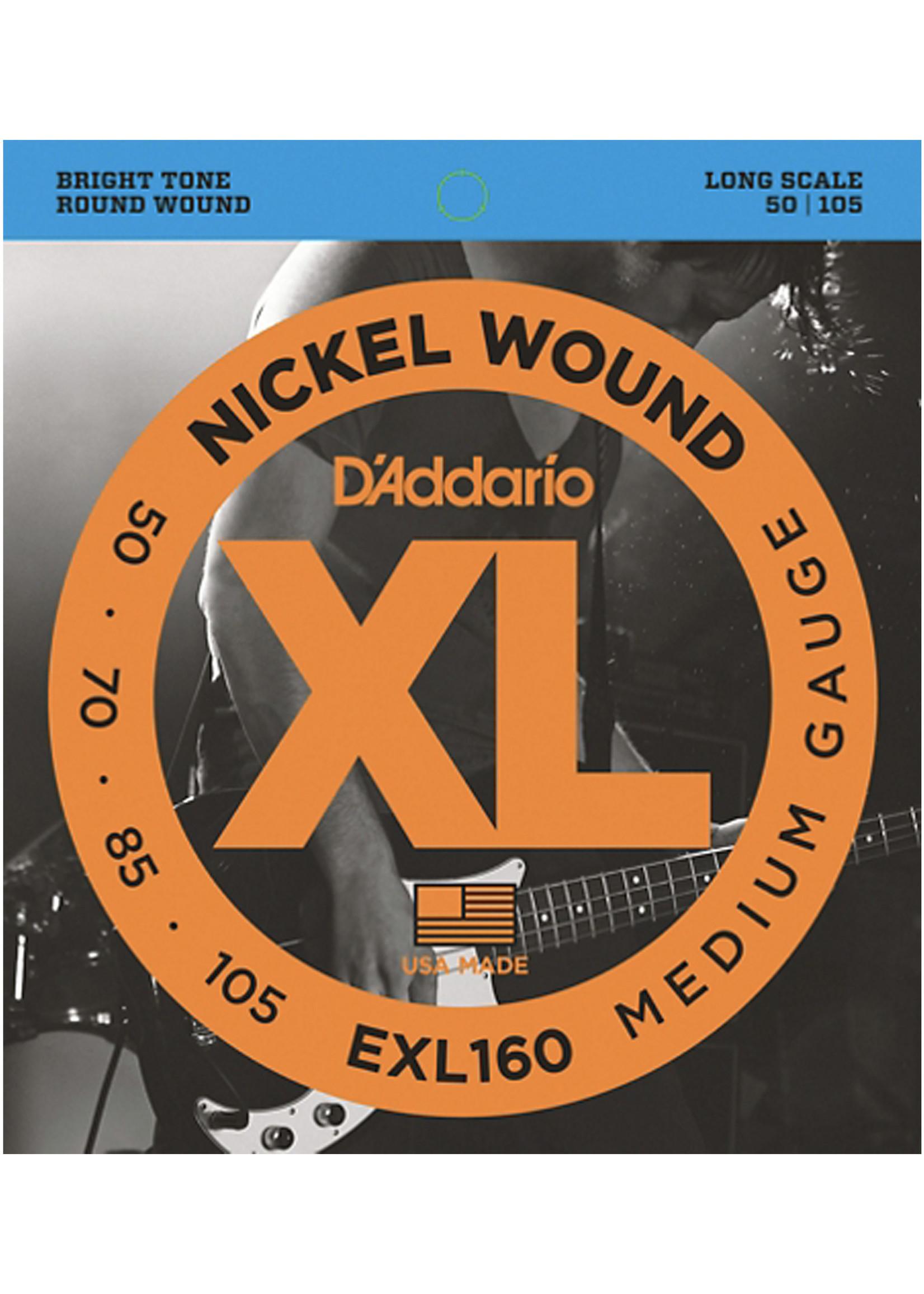 DAddario Fretted D'Addario EXL160, Medium 50-105
