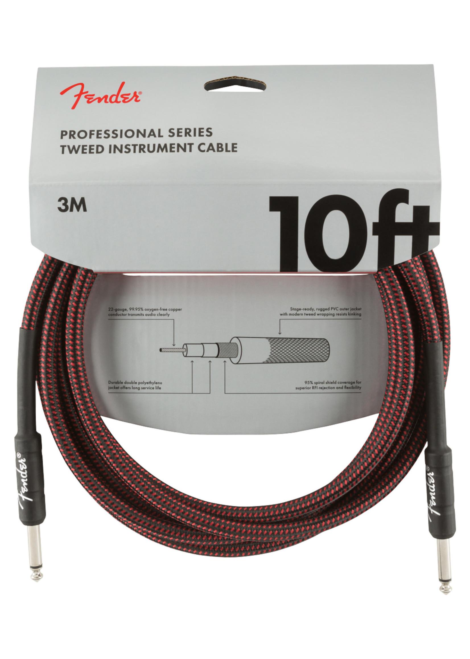 Fender Fender Professional Series 10 ft. Red Tweed