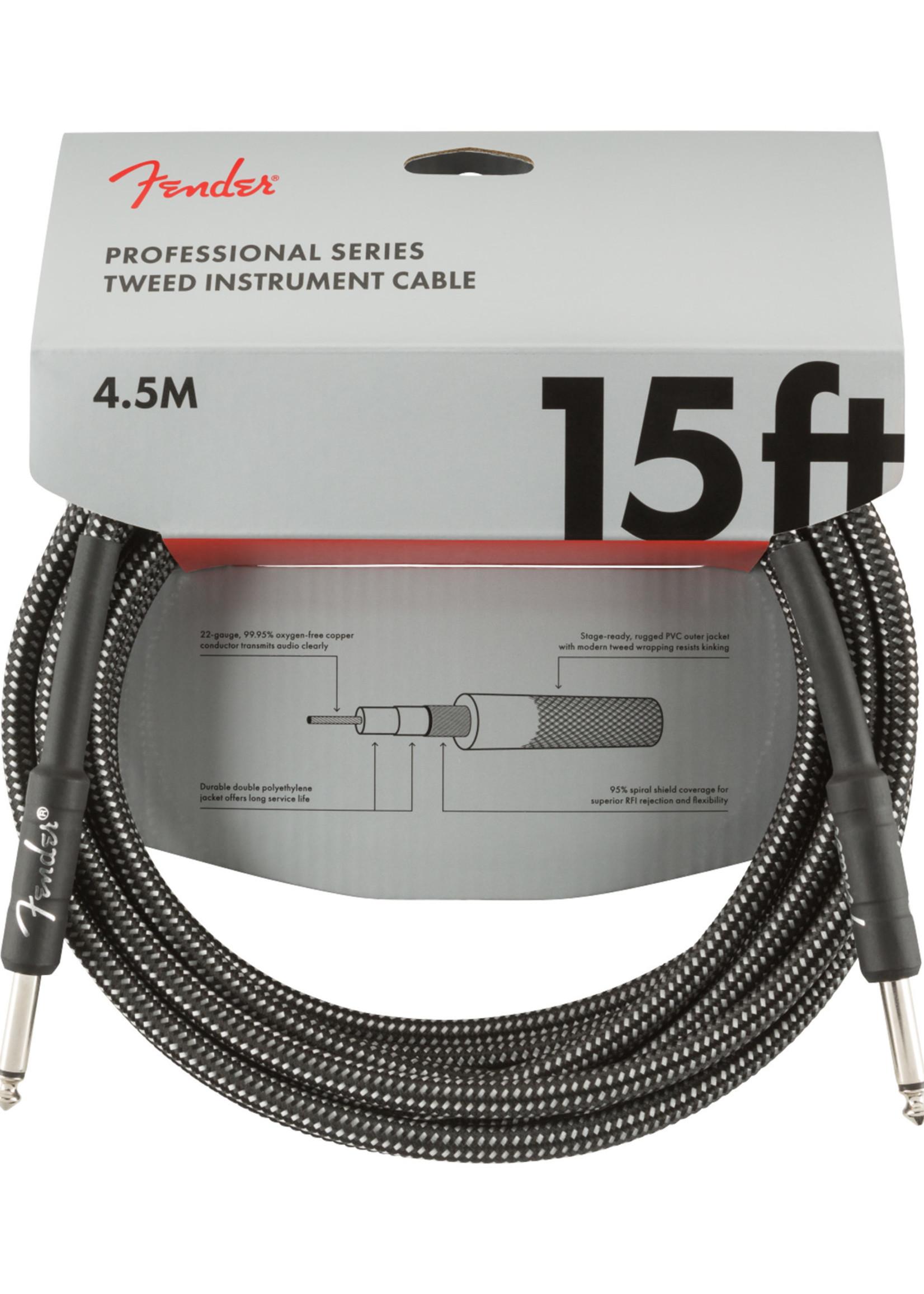 Fender Fender Professional Series 15 ft Grey Tweed