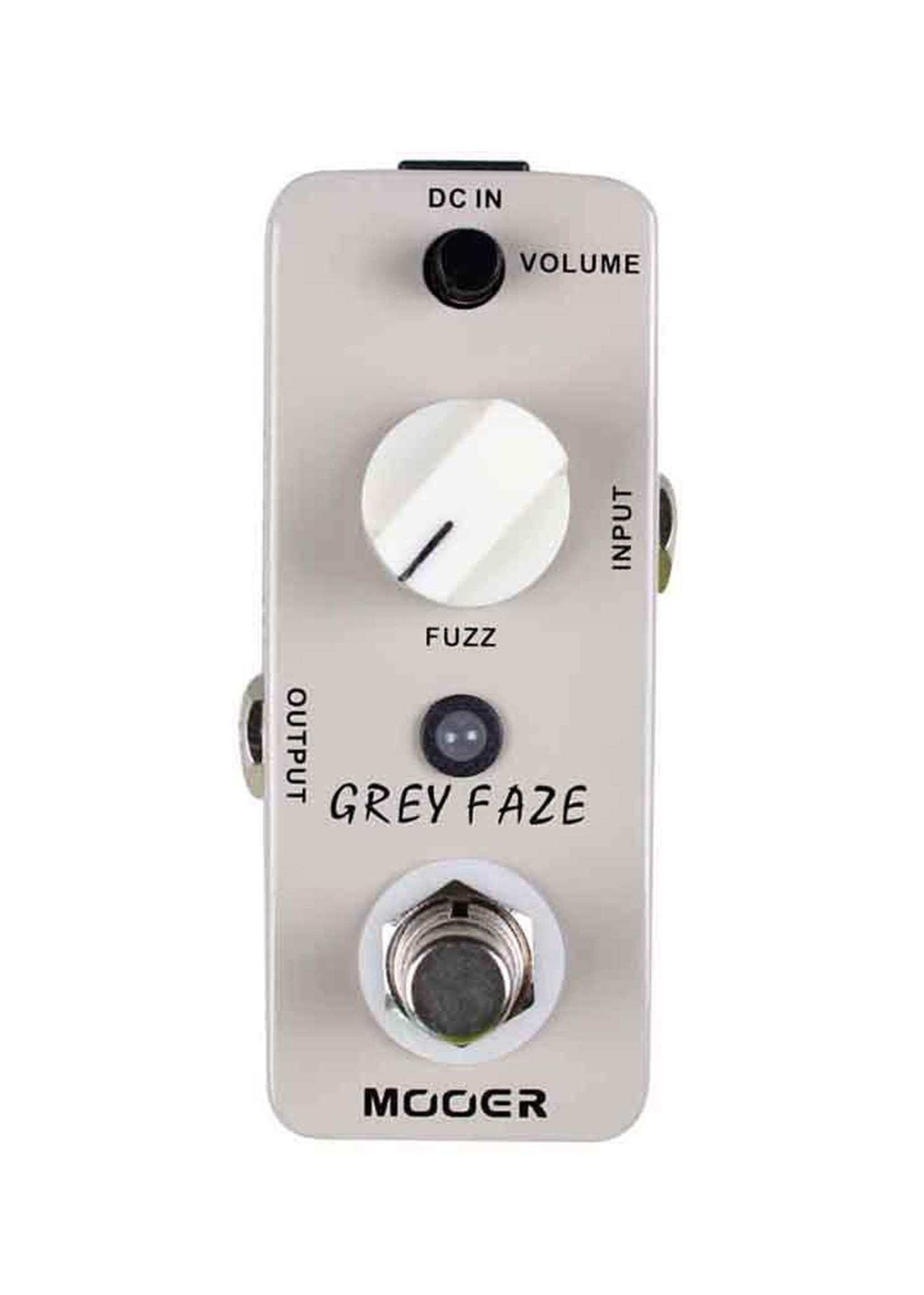 Mooer Mooer Grey Faze Fuzz