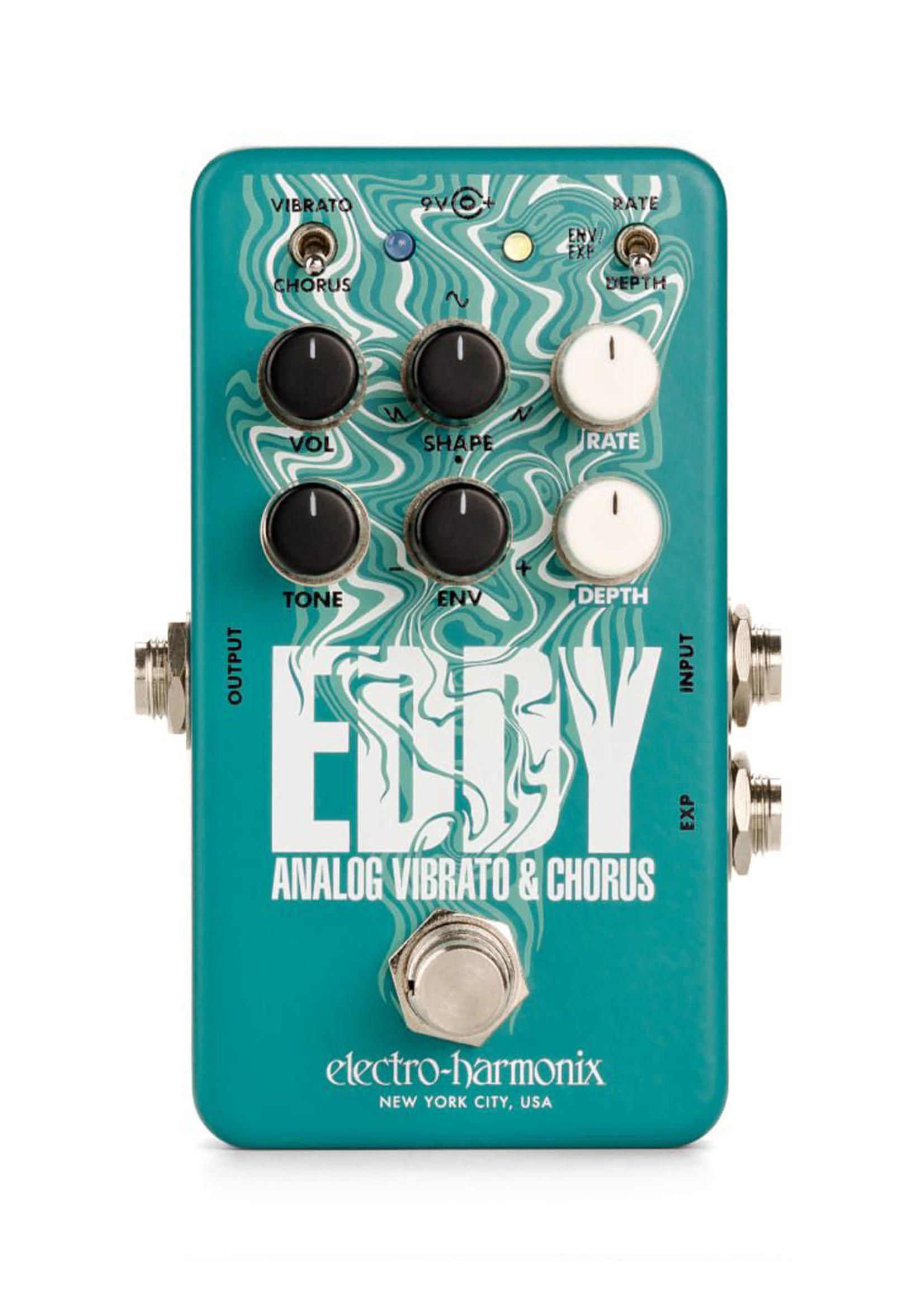 Electro Harmonix EHX Eddy Analog Vibrato