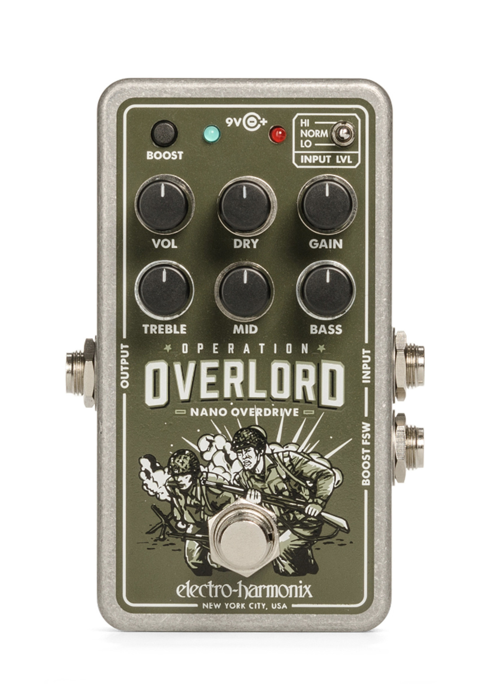Electro Harmonix EHX Nano Operation Overlord