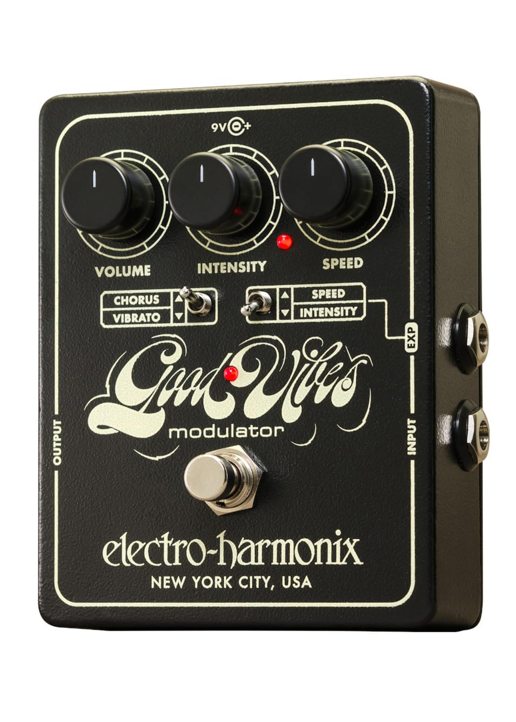 Electro Harmonix EHX Good Vibes Chorus Modulator