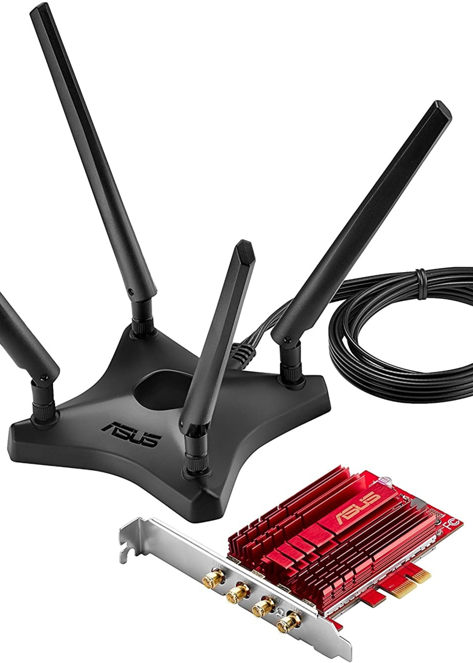ASUS ASUS PCE-AC88 Dual-Band 4x4 AC3100 WiFi PCIe adapter