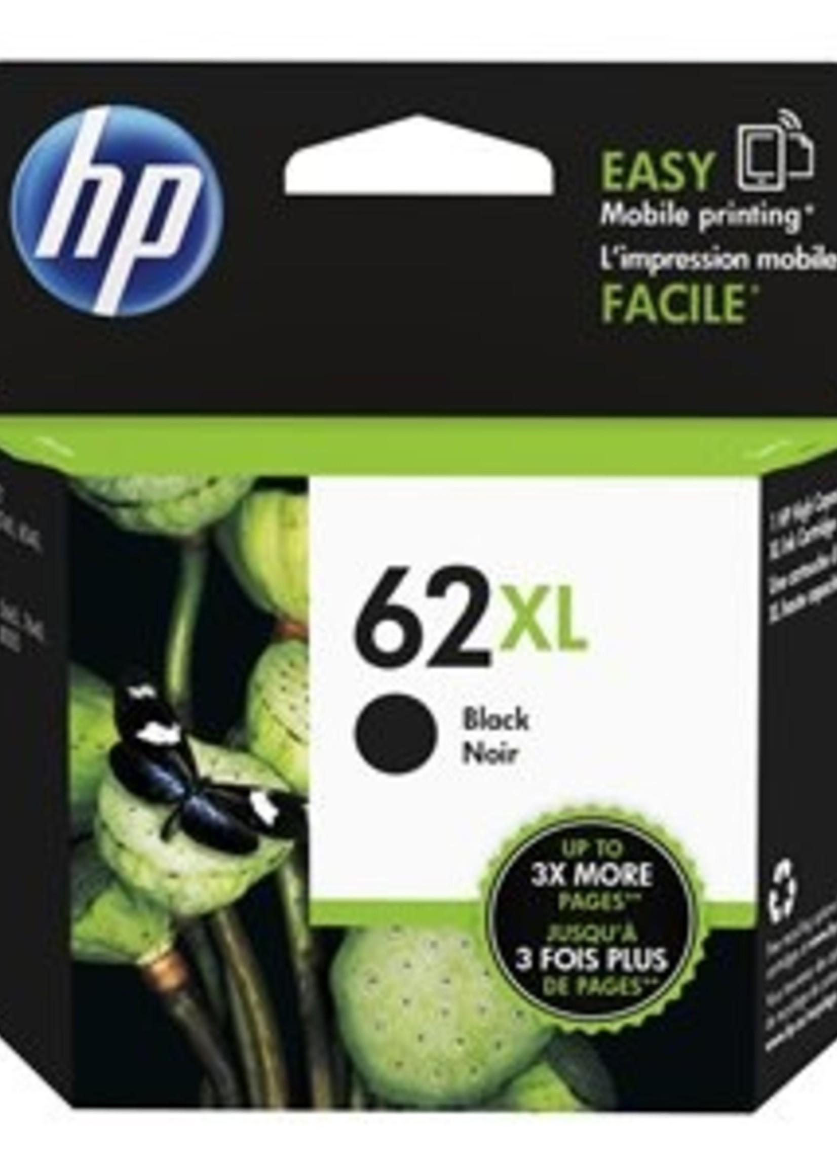 HP HP 62XL Black