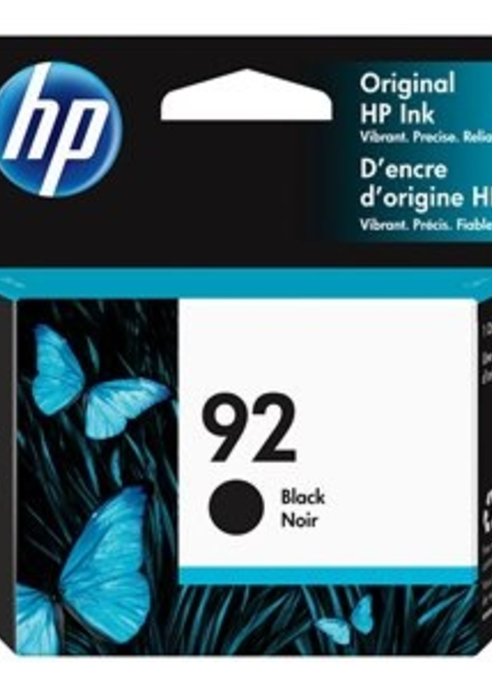 HP HP 92 Black