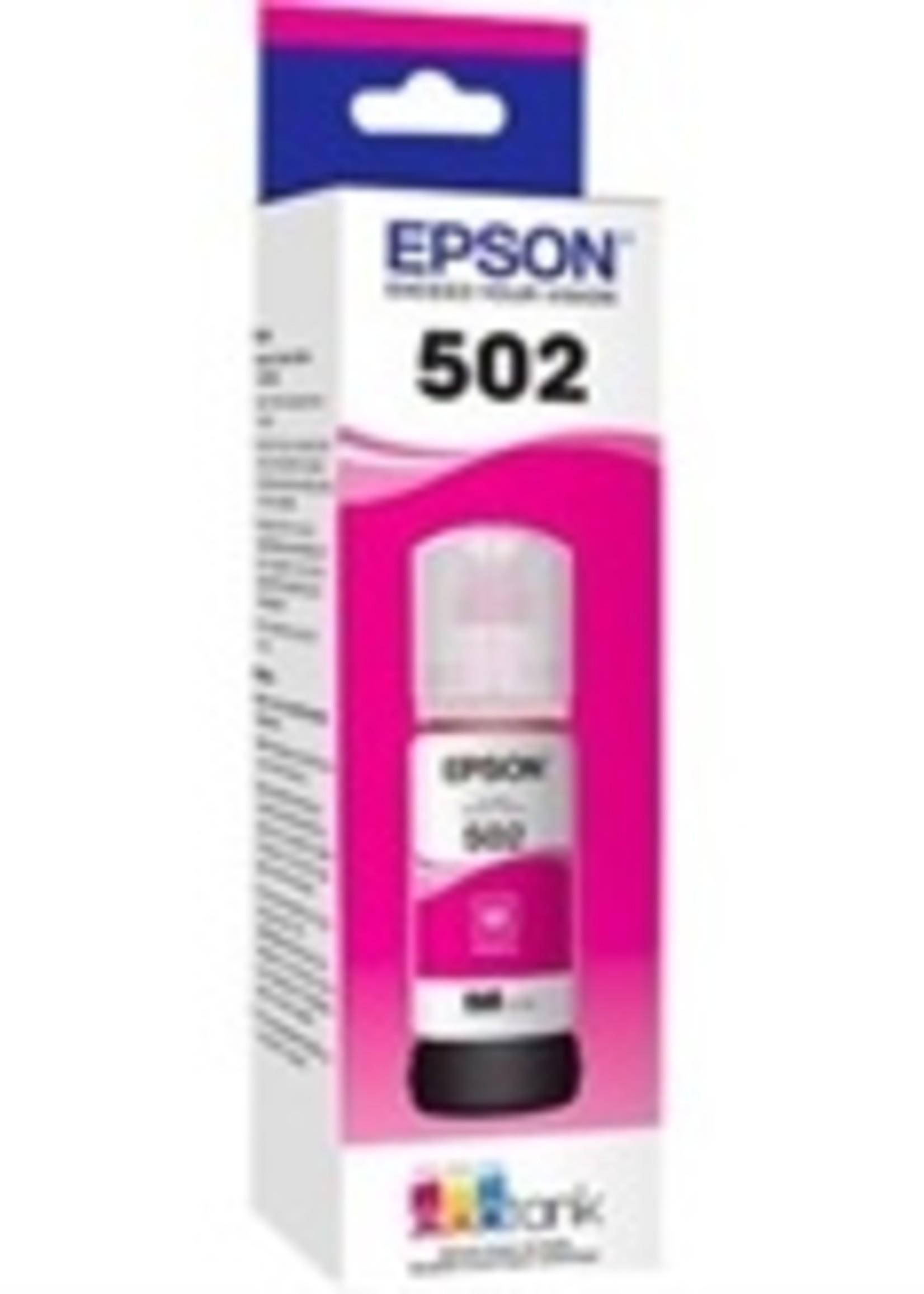 Epson Epson T502 Magenta Ink Bottle