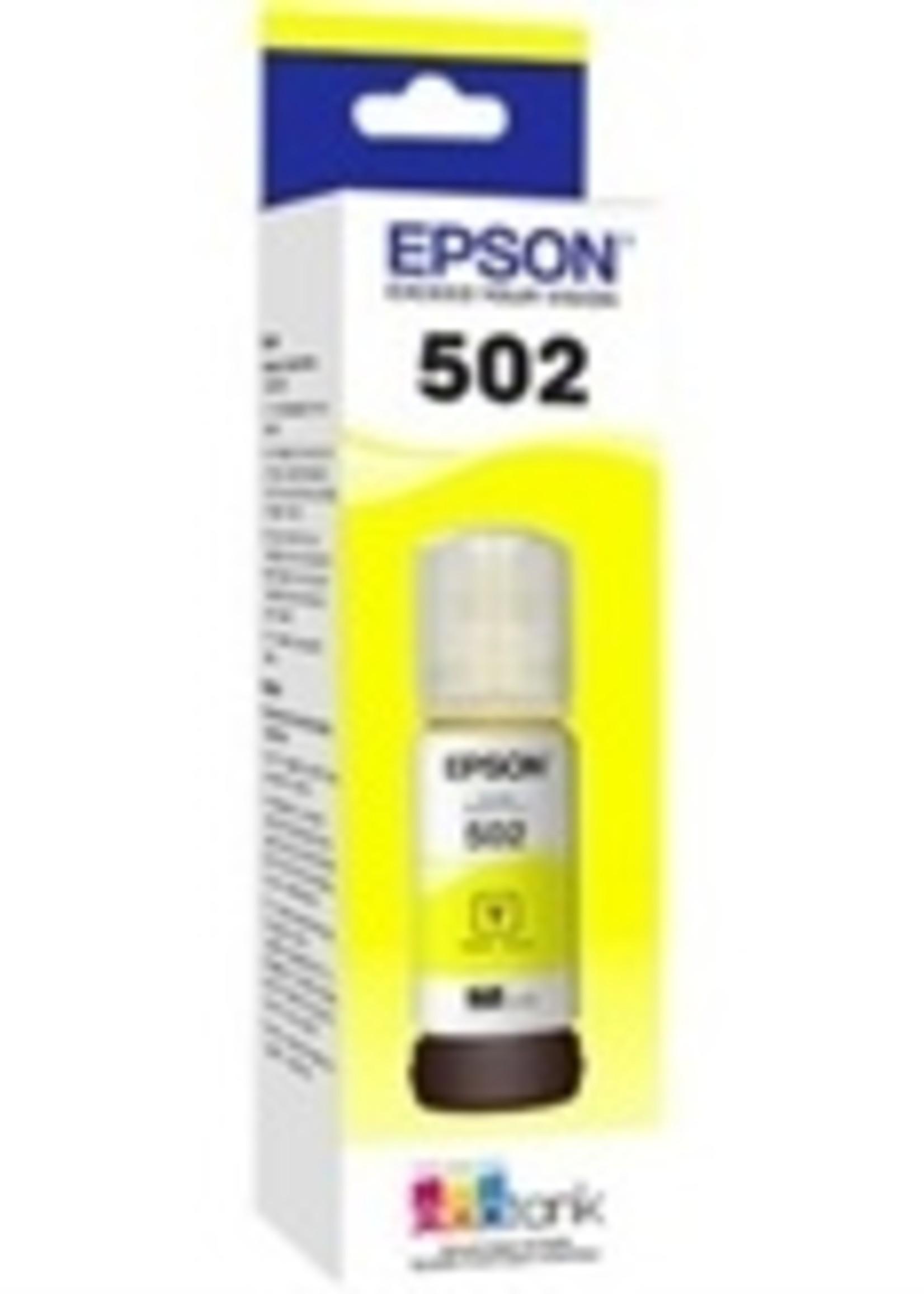 Epson Epson T502, Yellow Ink Bottle