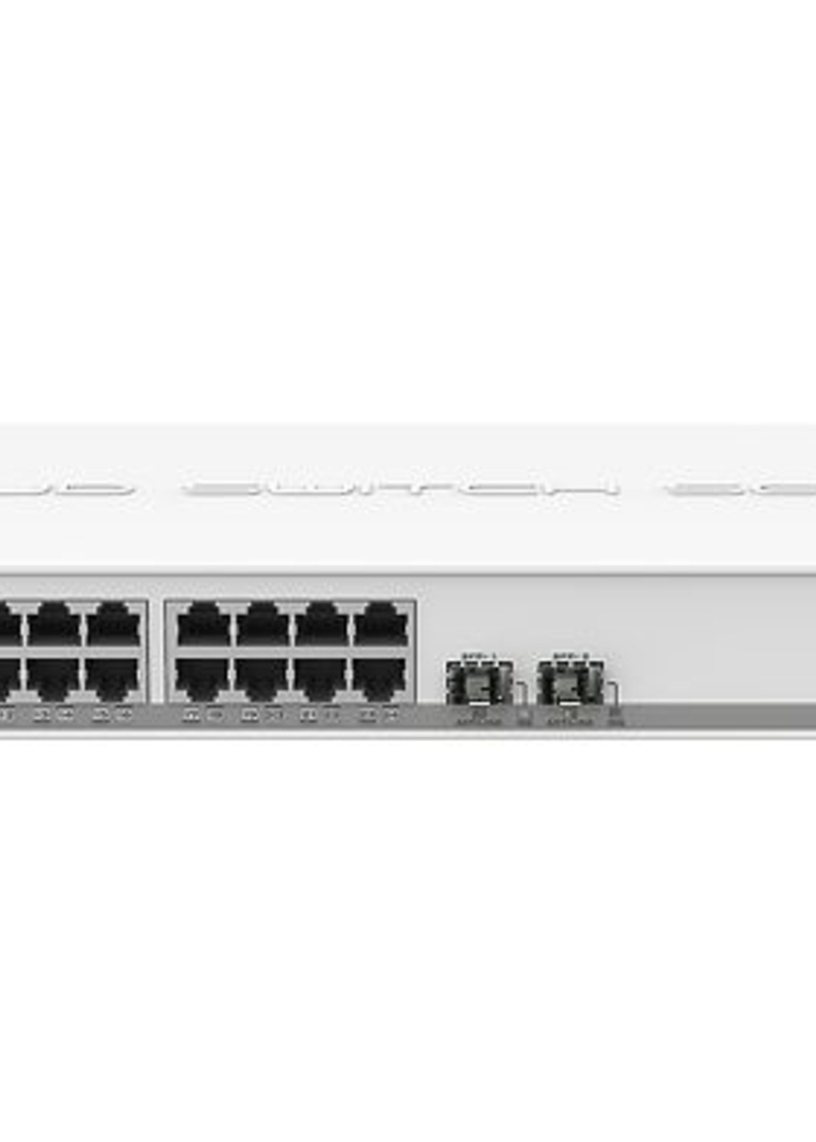 Mikrotik MikroTik: Cloud Smart Switch SwOS 24xGb 2xSFP+