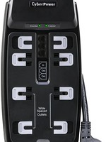 CyberPower CyberPower CSHT808TC 8' 8 Outlet Surge Suppressor