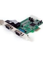 StarTech StarTech 2Port RS232 Serial Adapter PCI Express