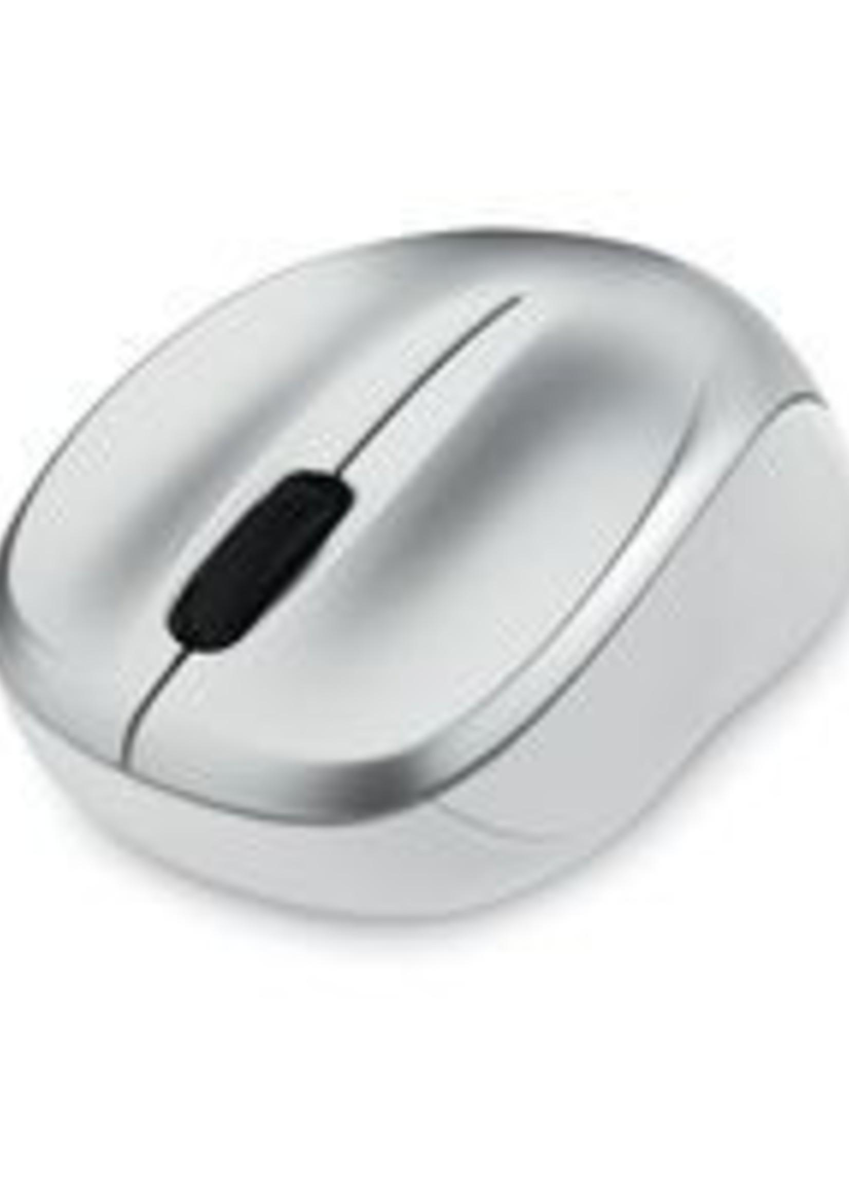 Verbatim Verbatim Silent Wireless Blue LED Mouse - Silver