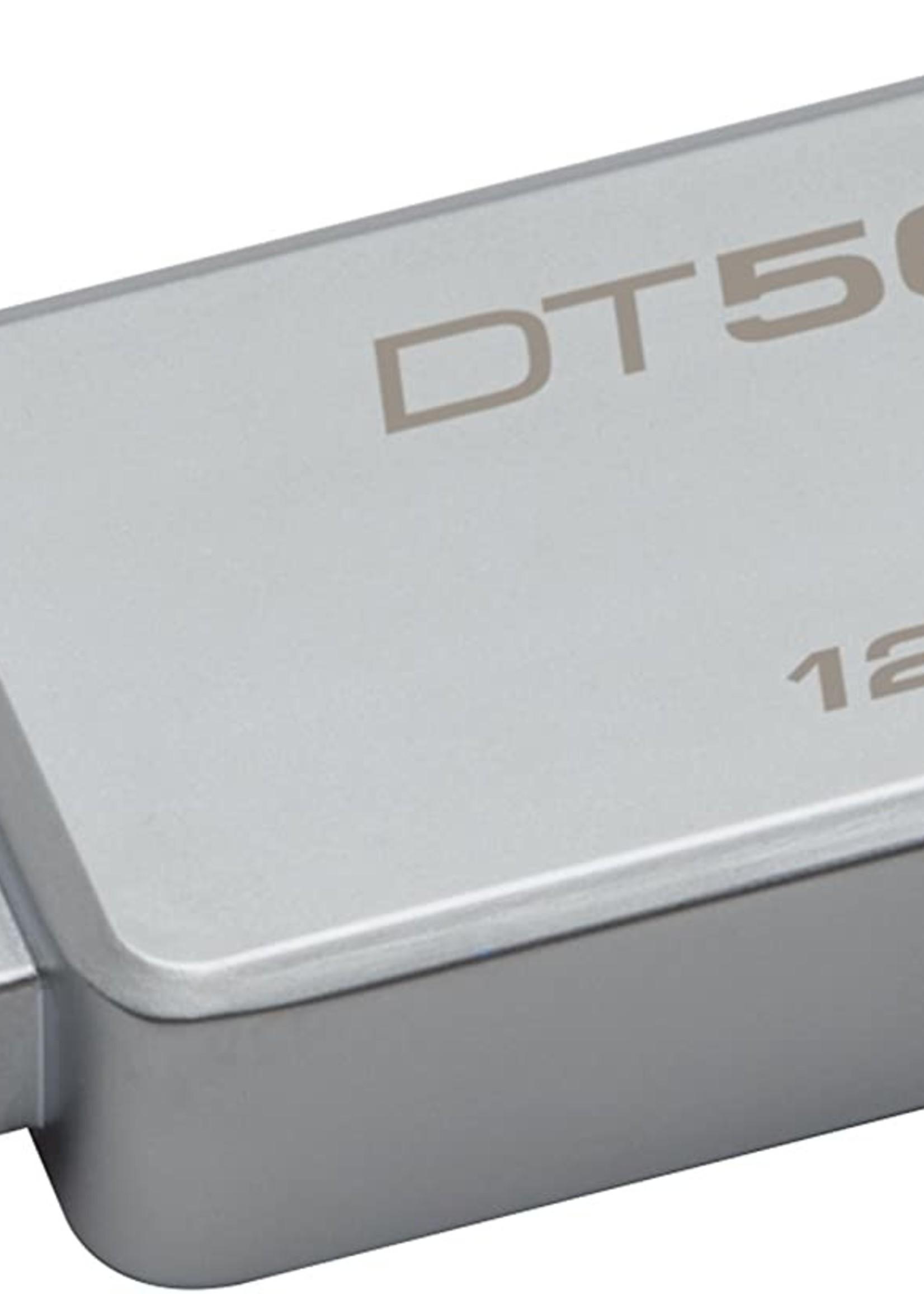 Kingston 128GB Kingston Data Traveler USB 3.0 DT 50 Metal Blk