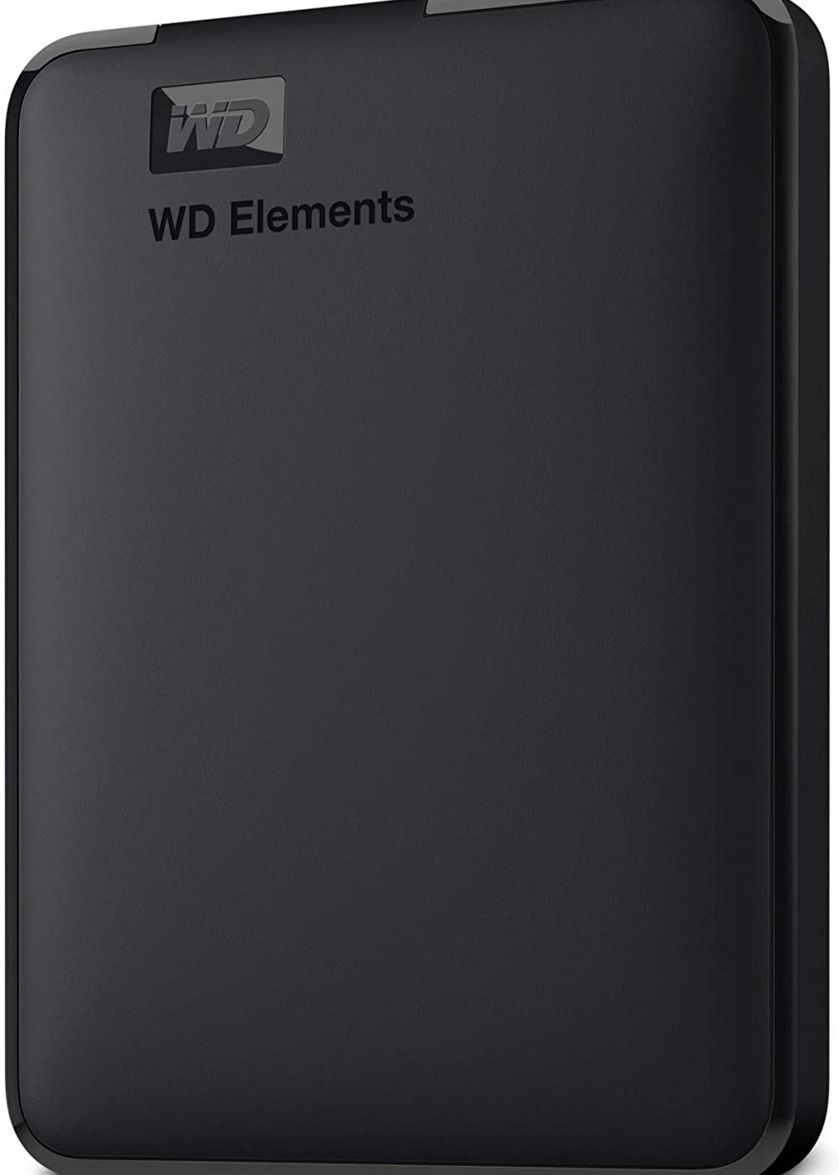 Western Digital 5TB WD Elements External USB 3.0 HHD