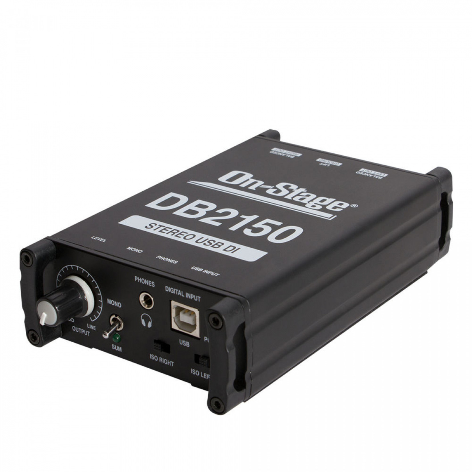 On-Stage On-Stage DB2150 Stereo USB DI Box