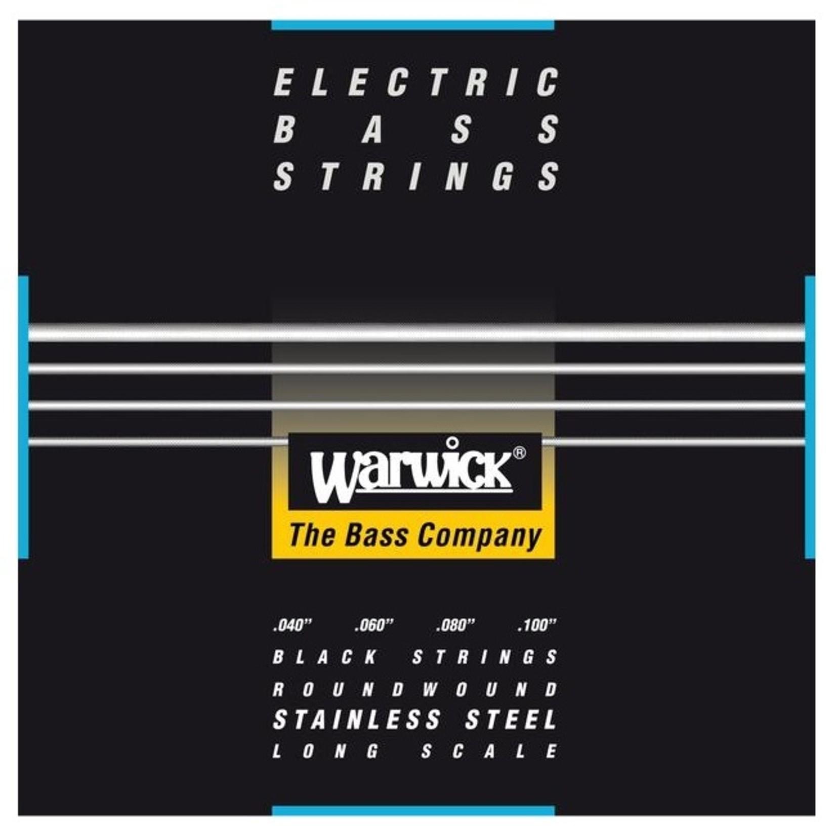 Warwick Warwick Black Label Bass Strings 4-String (Long Scale) Set, Medium-Light 040/100 (40210 ML 4)