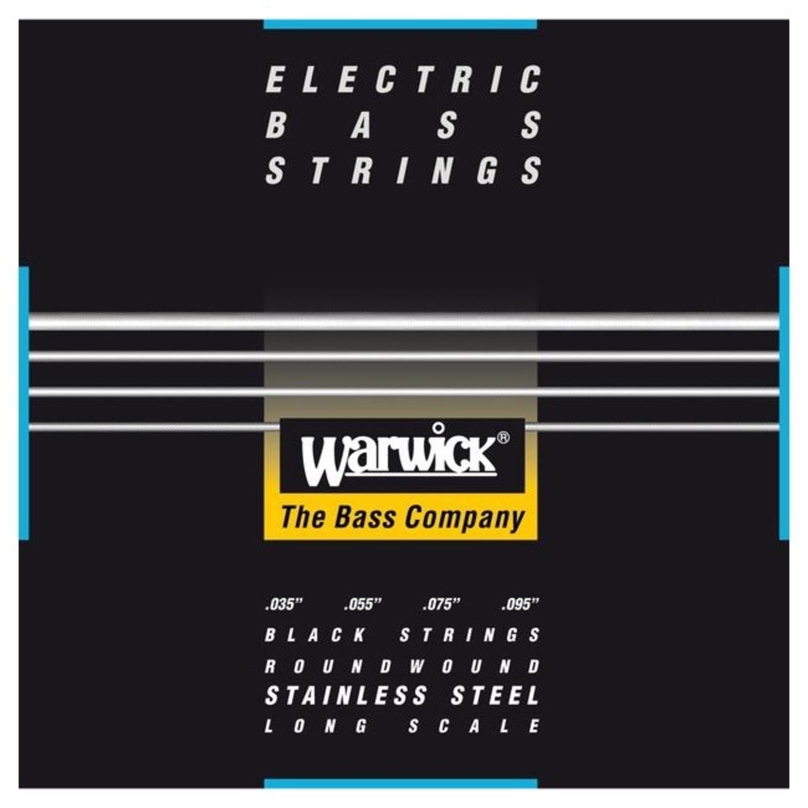 Warwick Warwick Black Label Bass Strings 4-String (Long Scale) Set, Light 035/095 (40230 L 4)