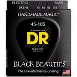 DR Strings DR Strings BKB-45 Black Beauties (45-105) Electric Bass Strings / 4-String Medium