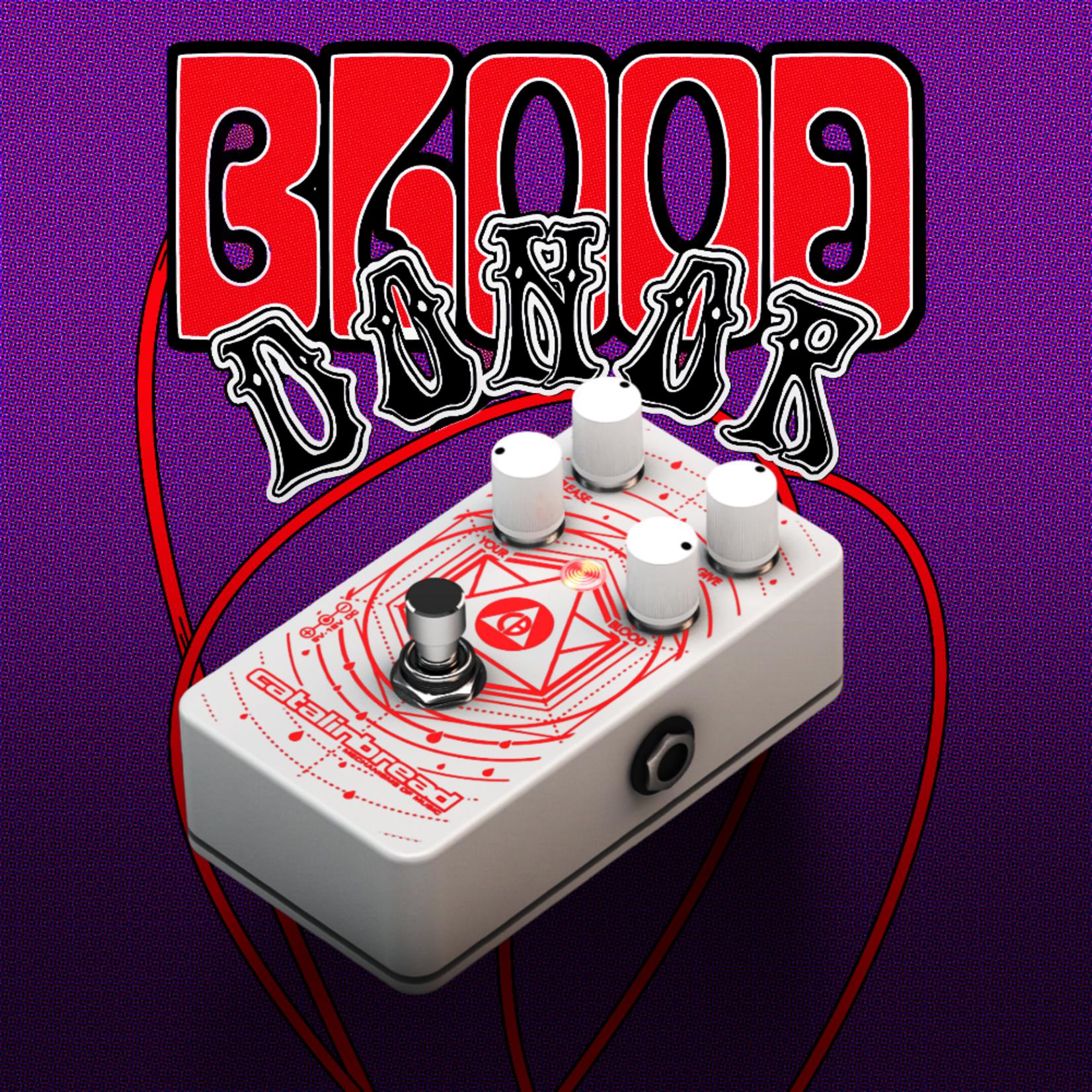 Catalinbread Catalinbread Effects Blood Donor Fuzz/Distortion, Limited Edition White