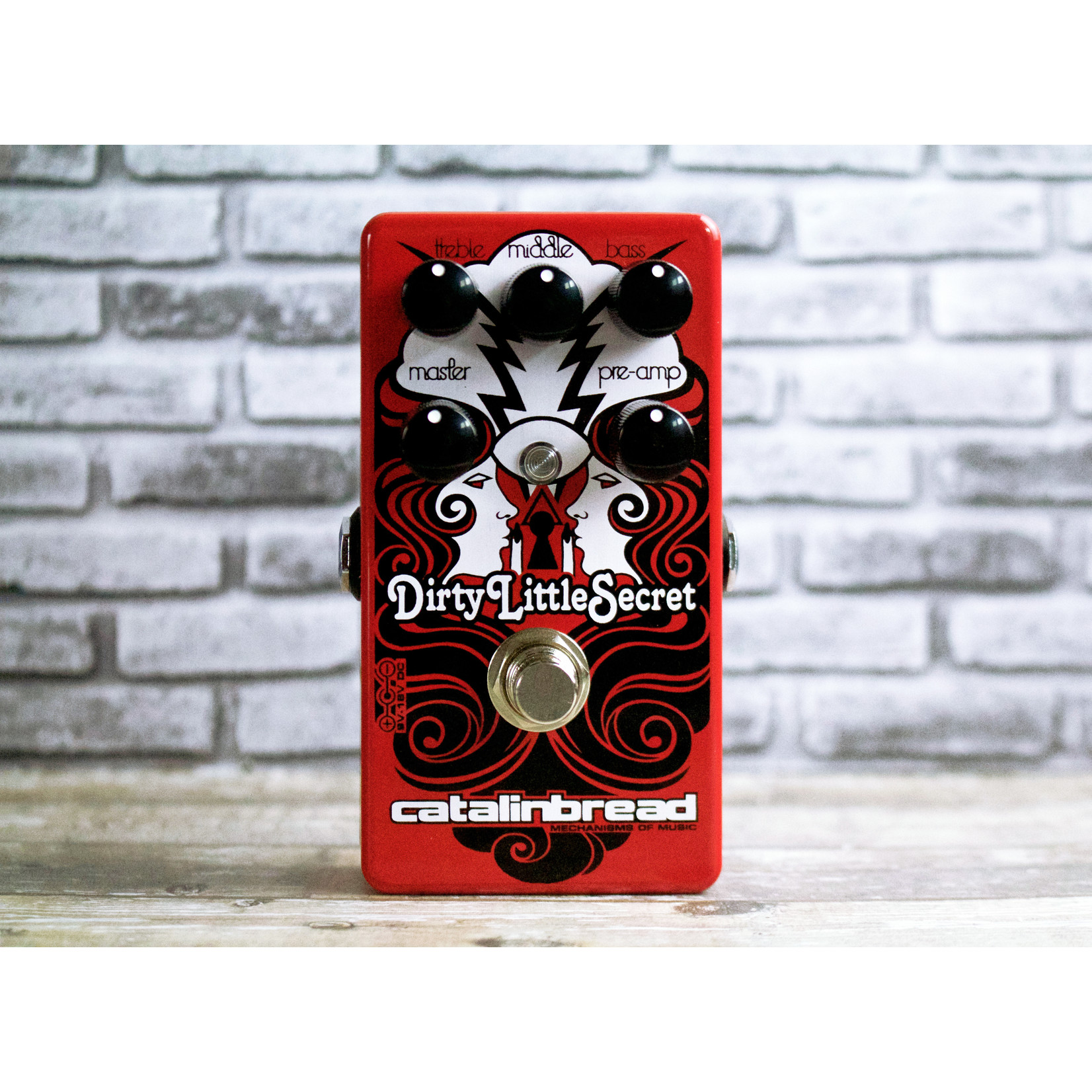"Catalinbread Catalinbread Dirty Little Secret RED (""Hot Rod Marshall""-style drive) (New model!)"