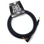 "Hosa Hosa Edge 20-foot premium (top tier) Guitar Cable, Neutrik Connectors, 1/4"" Straight-Angle, Black"