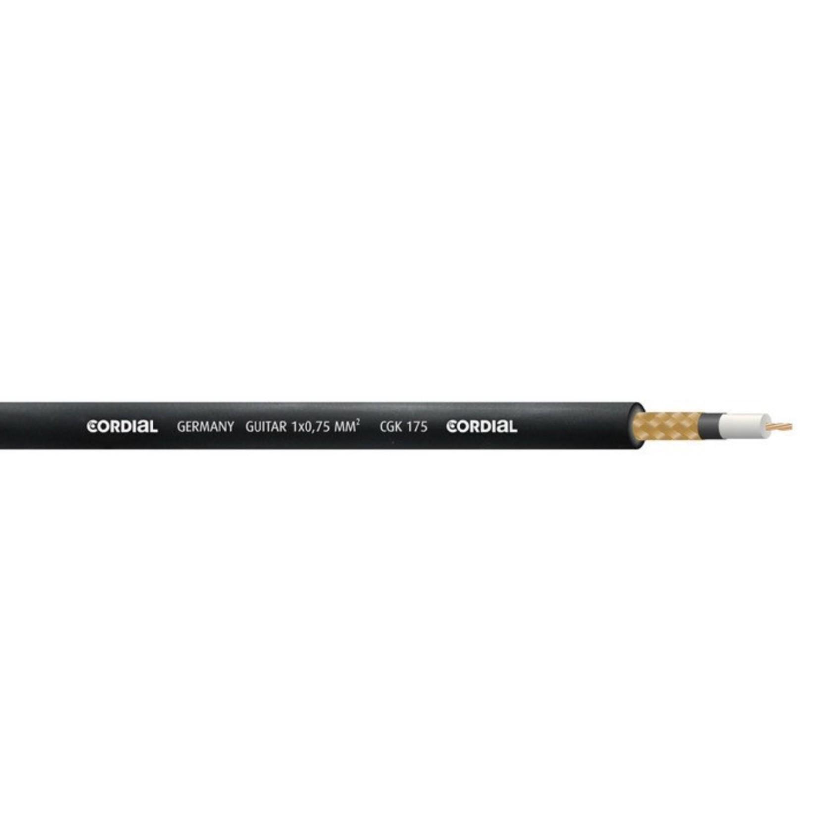 Cordial Cables Cordial 6m /~20ft Premium High-Copper German Instrument Cable, 1/4'' Neutrik Silent, CSI 6 PP-SILENT
