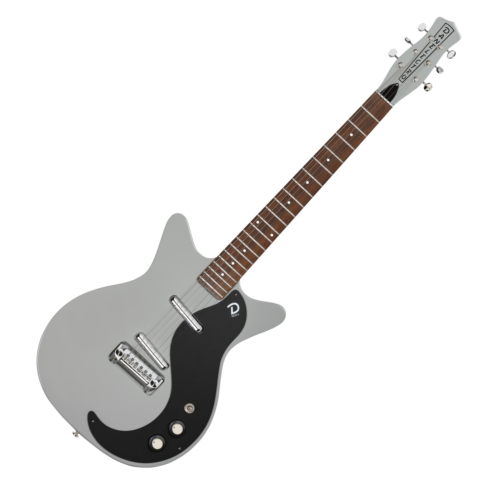 Danelectro Danelectro '59M NOS  Ice Gray with Black Pickguard (new 2020 color) +  FREE Gigbag