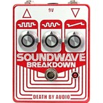 Death By Audio Death by Audio Soundwave Breakdown Fuzz Pedal