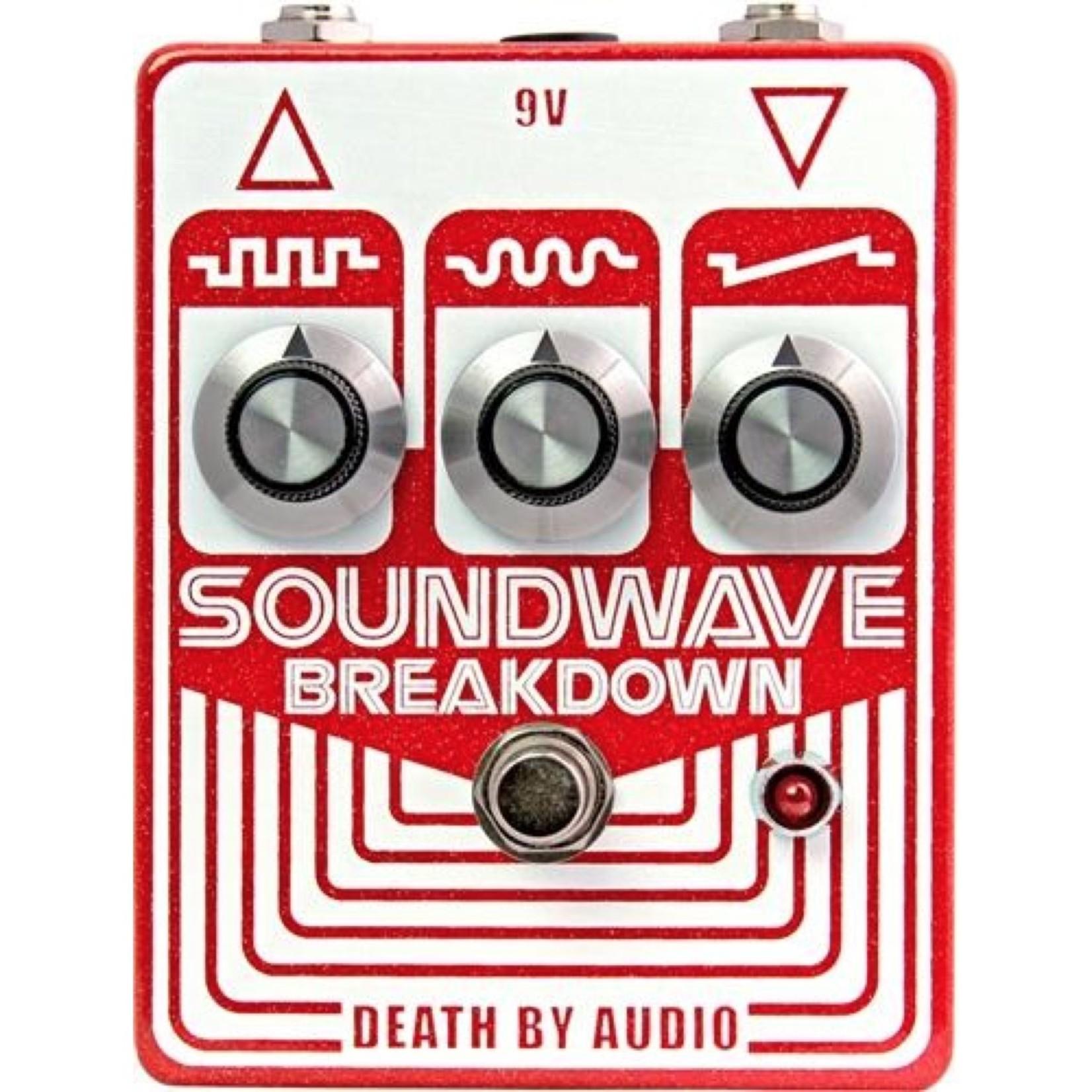 Death By Audio Death by Audio Soundwave Breakdown Fuzz Pedal