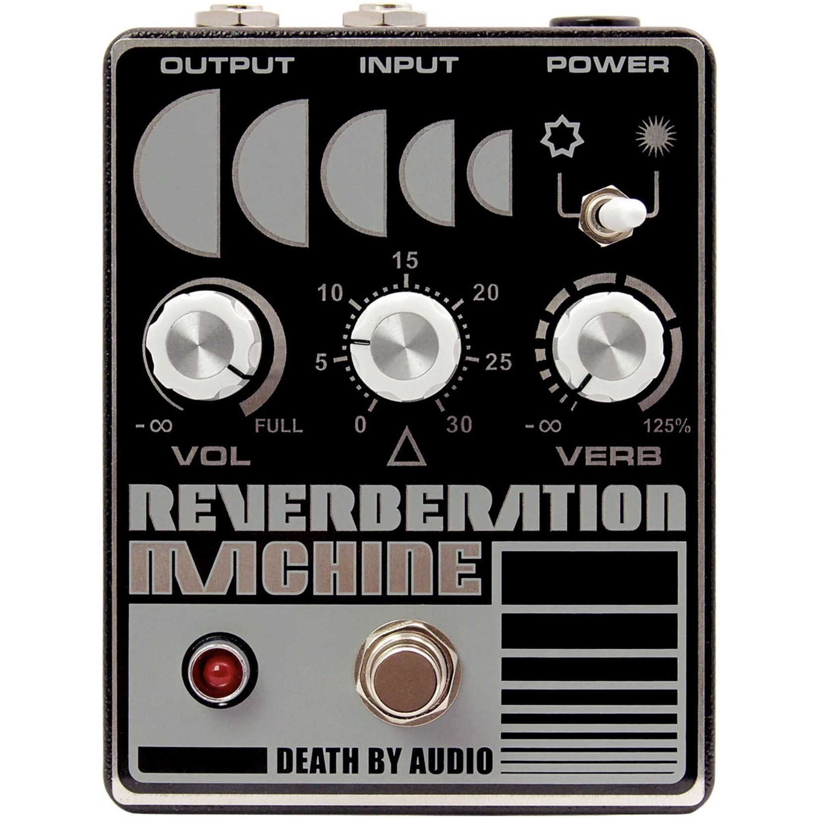 Death By Audio Death by Audio Reverberation Machine Reverb Pedal