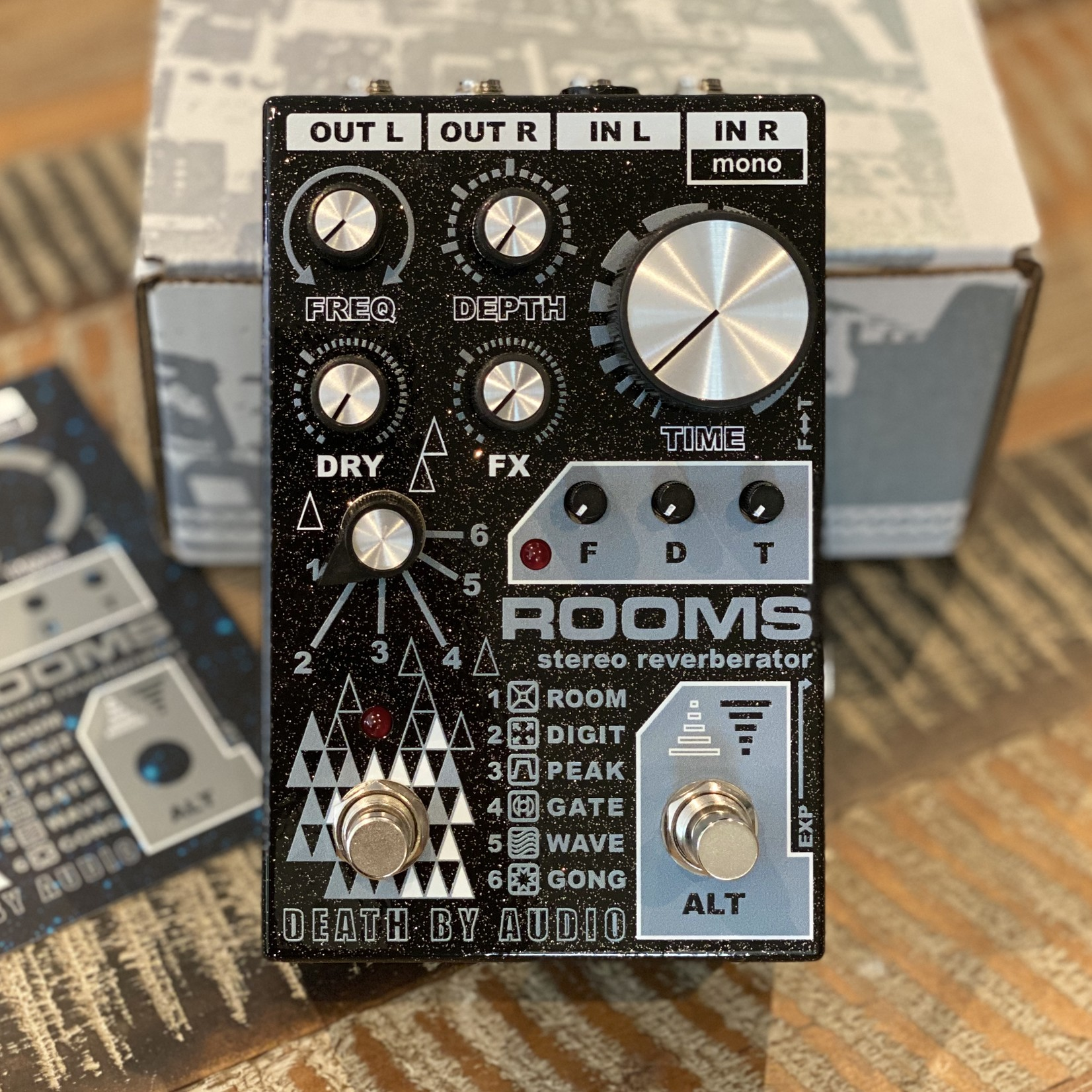 Death By Audio Death By Audio Rooms Stereo Reverberator (2020) - In Stock and Shipping Now