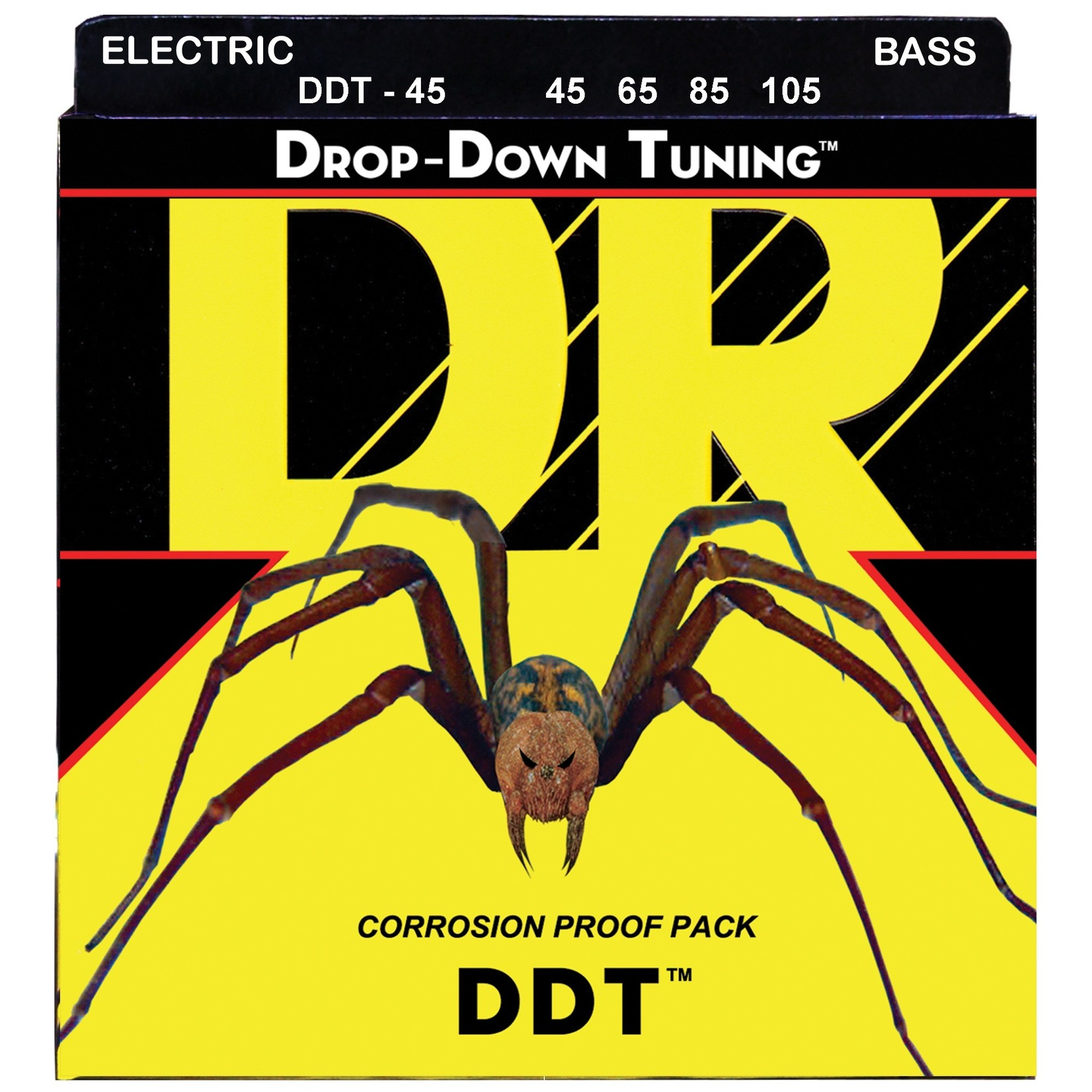 DR Strings DR Strings DDT-45 Drop-Down Tuning Bass Strings (45 65 85 105)