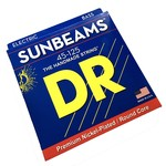 DR Strings DR NMR5-45 Sunbeams, 5-String (45-125) Bass Strings, Premium Nickel-Plated / Round Core