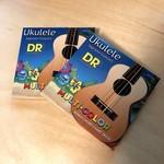 DR Strings 2x (two sets) DR Multi-Color Soprano/Concert Ukulele Strings