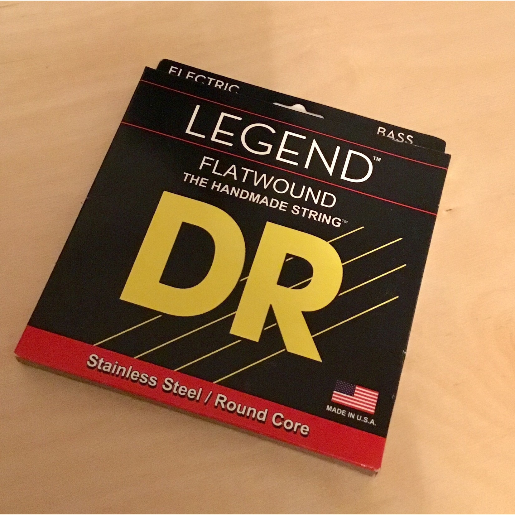 DR Strings DR Strings FL-45 Legend Flatwound Electric Bass Strings (45 65 85 105)