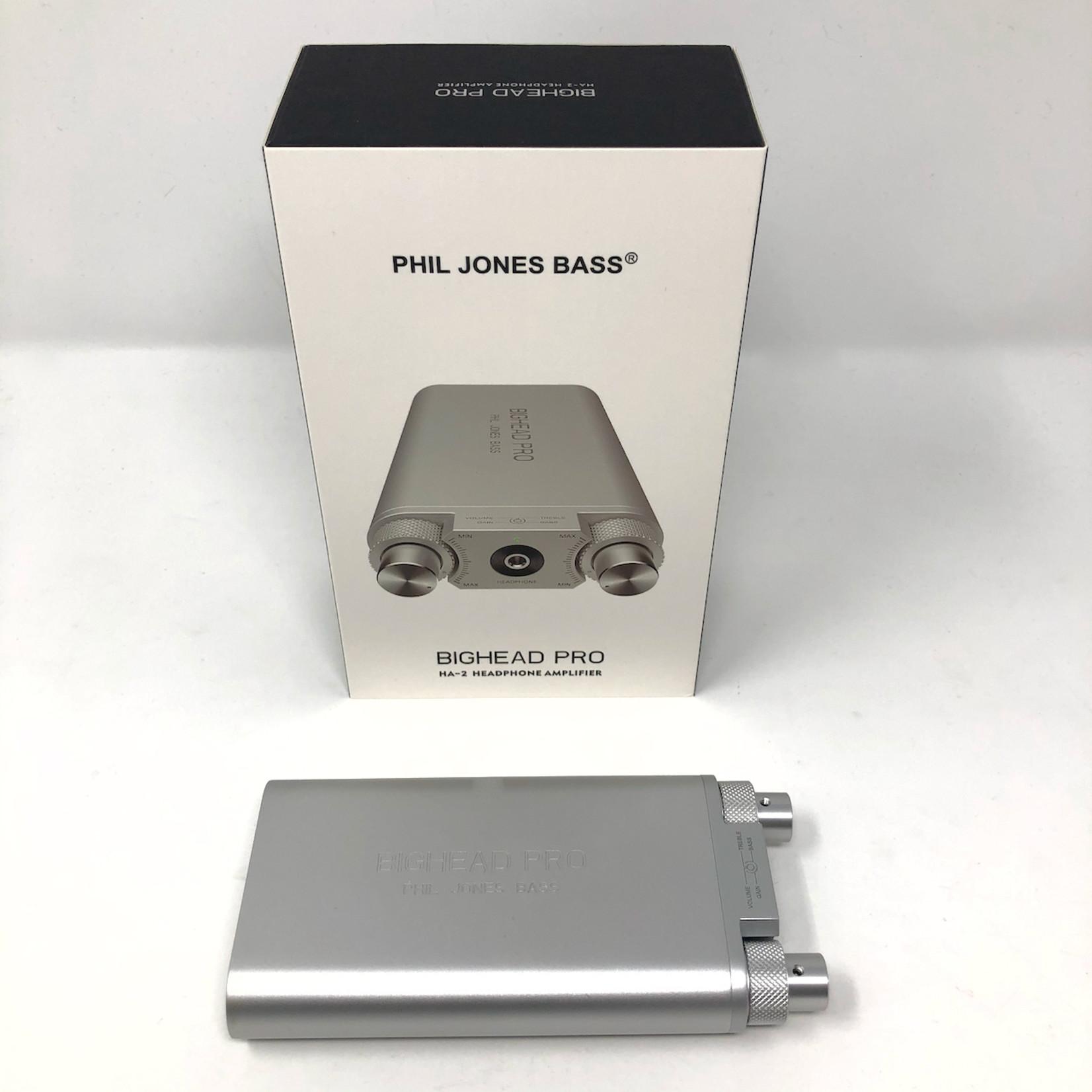 Phil Jones Phil Jones Bass BigHead Pro Multi-Function Headphone Amplifier & Digital Audio Interface (HA-2)