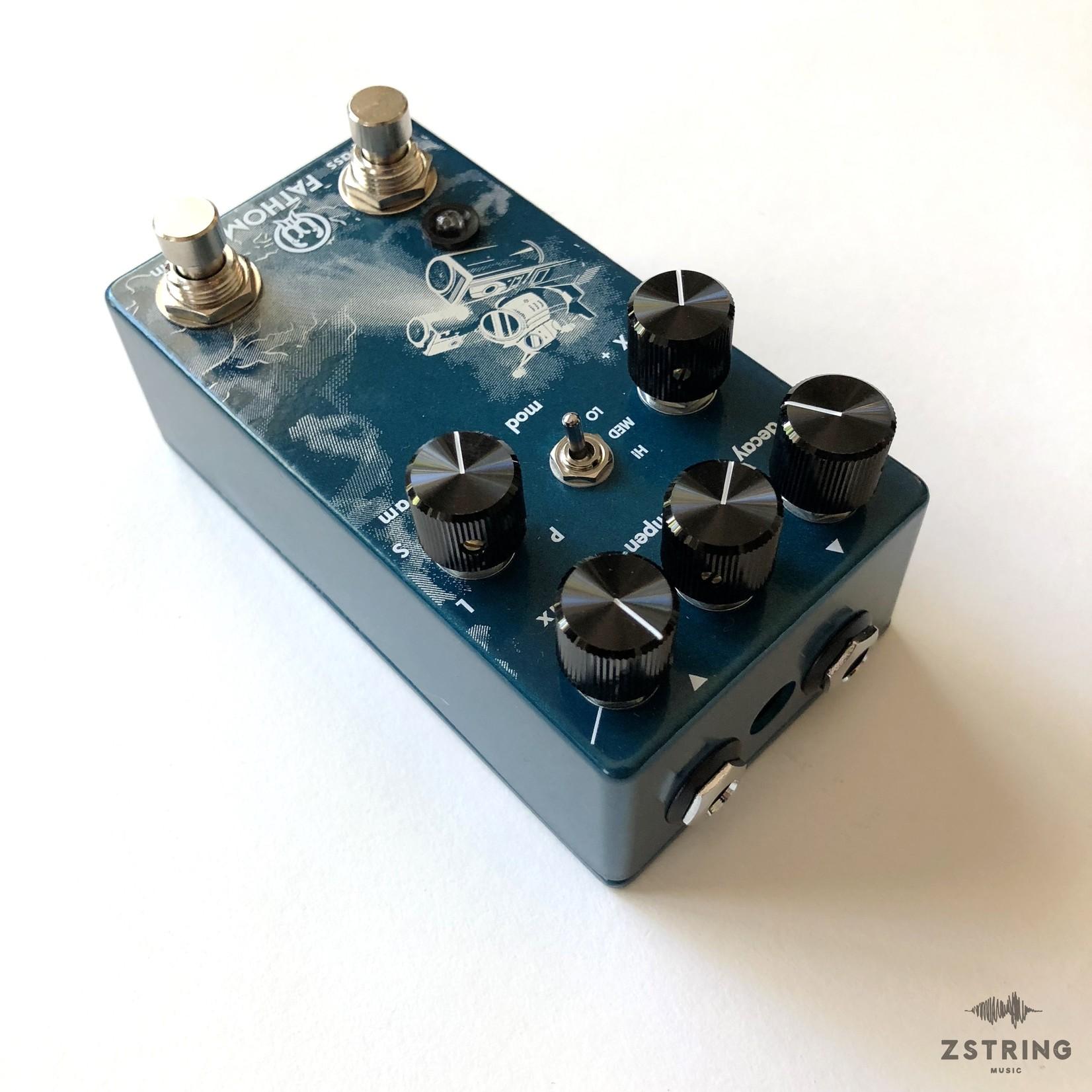 Walrus Audio Walrus Audio Fathom Multi-Function Reverb Guitar Pedal